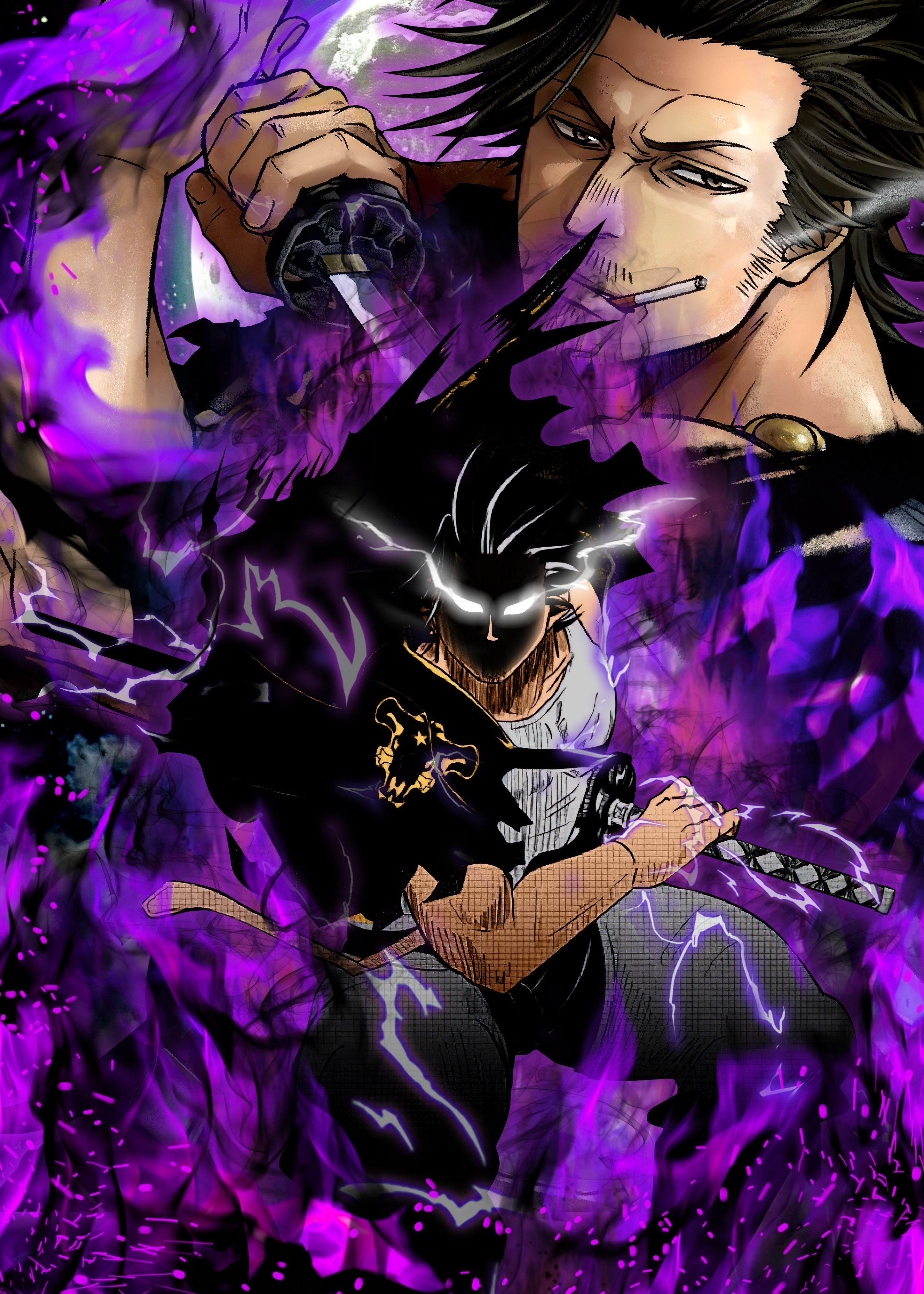 Black Clover Yami Wallpapers - Wallpaper Cave