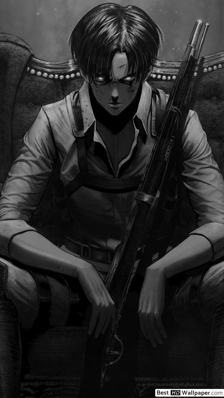 Attack On Titan Levi Anime Wallpapers Wallpaper Cave