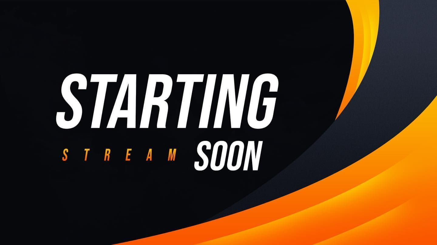 Stream Starting Soon Wallpapers Wallpaper Cave