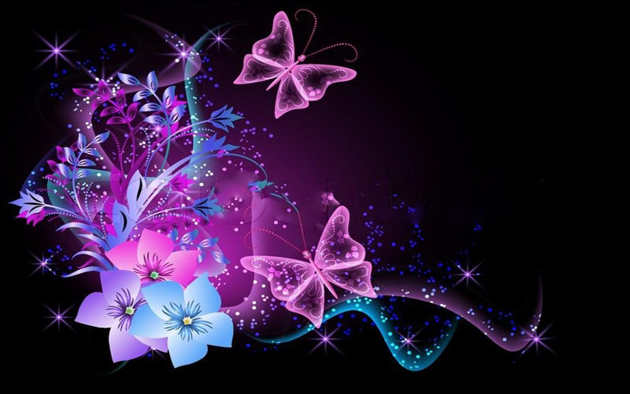 Neon Butterfly Wallpapers - Wallpaper Cave
