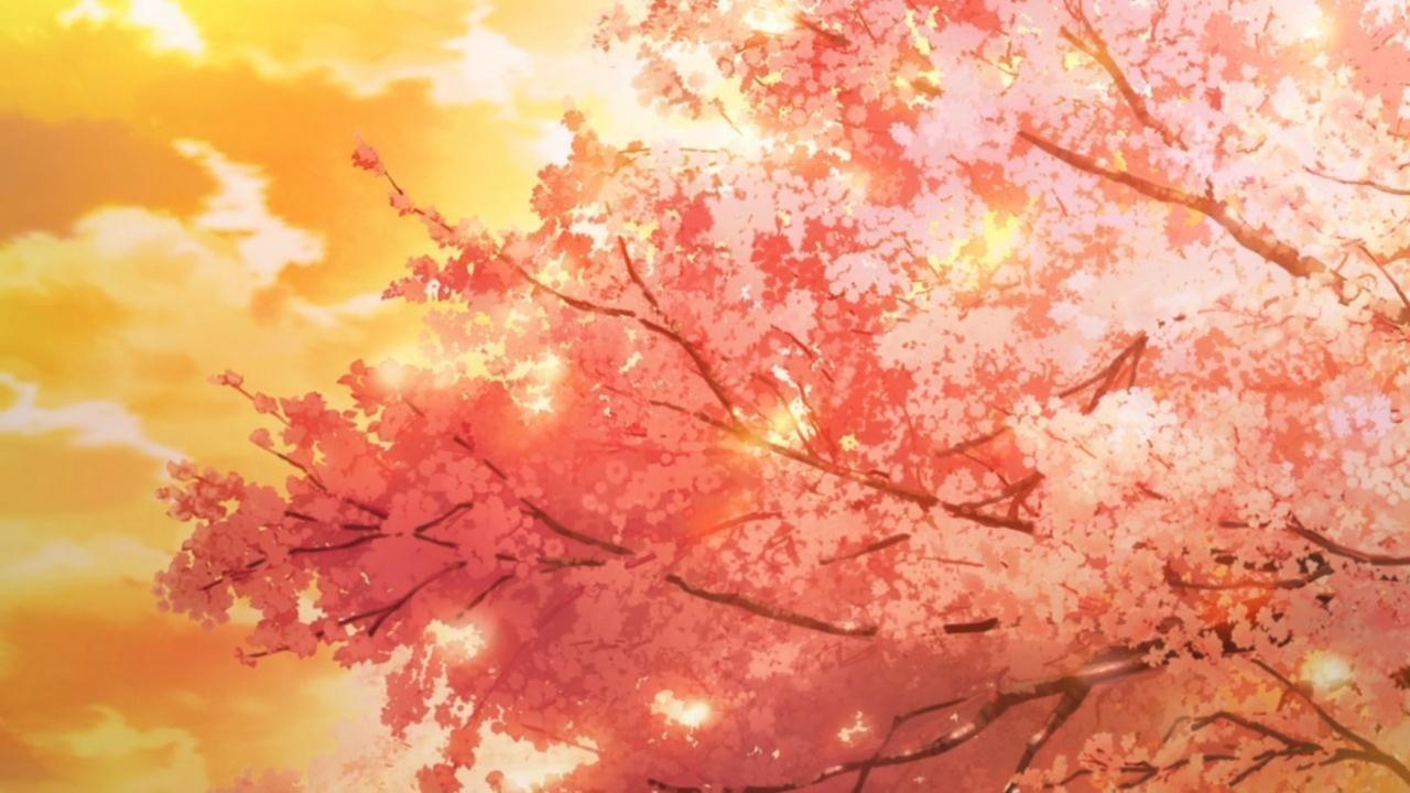 autumn anime aesthetic wallpapers