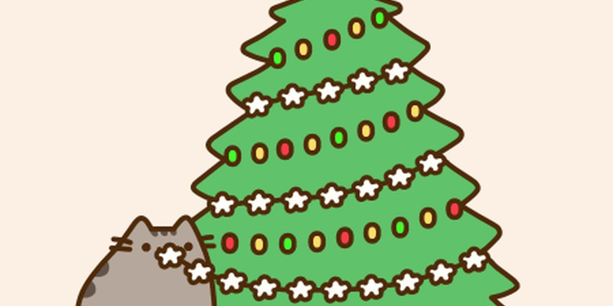 Pusheen Christmas Desktop Wallpapers ...