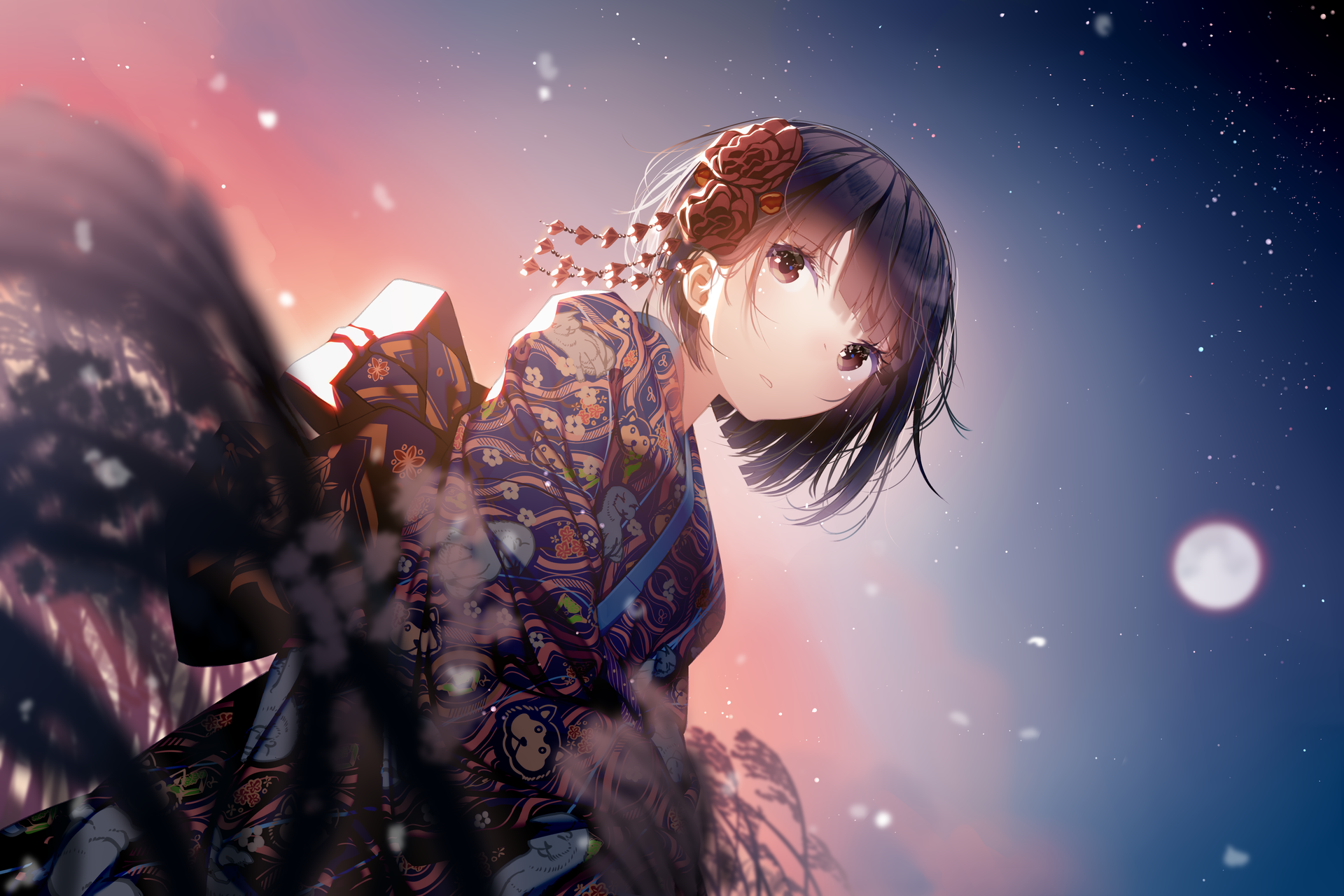 New Year Anime Girl Wallpapers - Wallpaper Cave