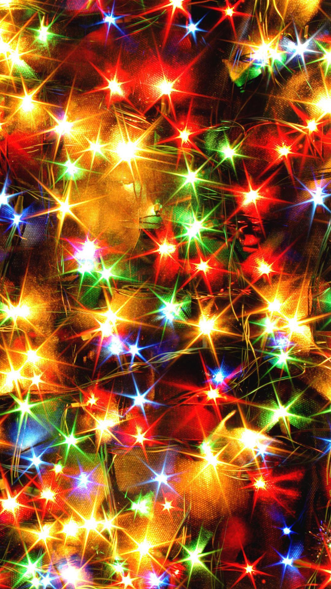 HD Christmas Lights Wallpapers - Wallpaper Cave
