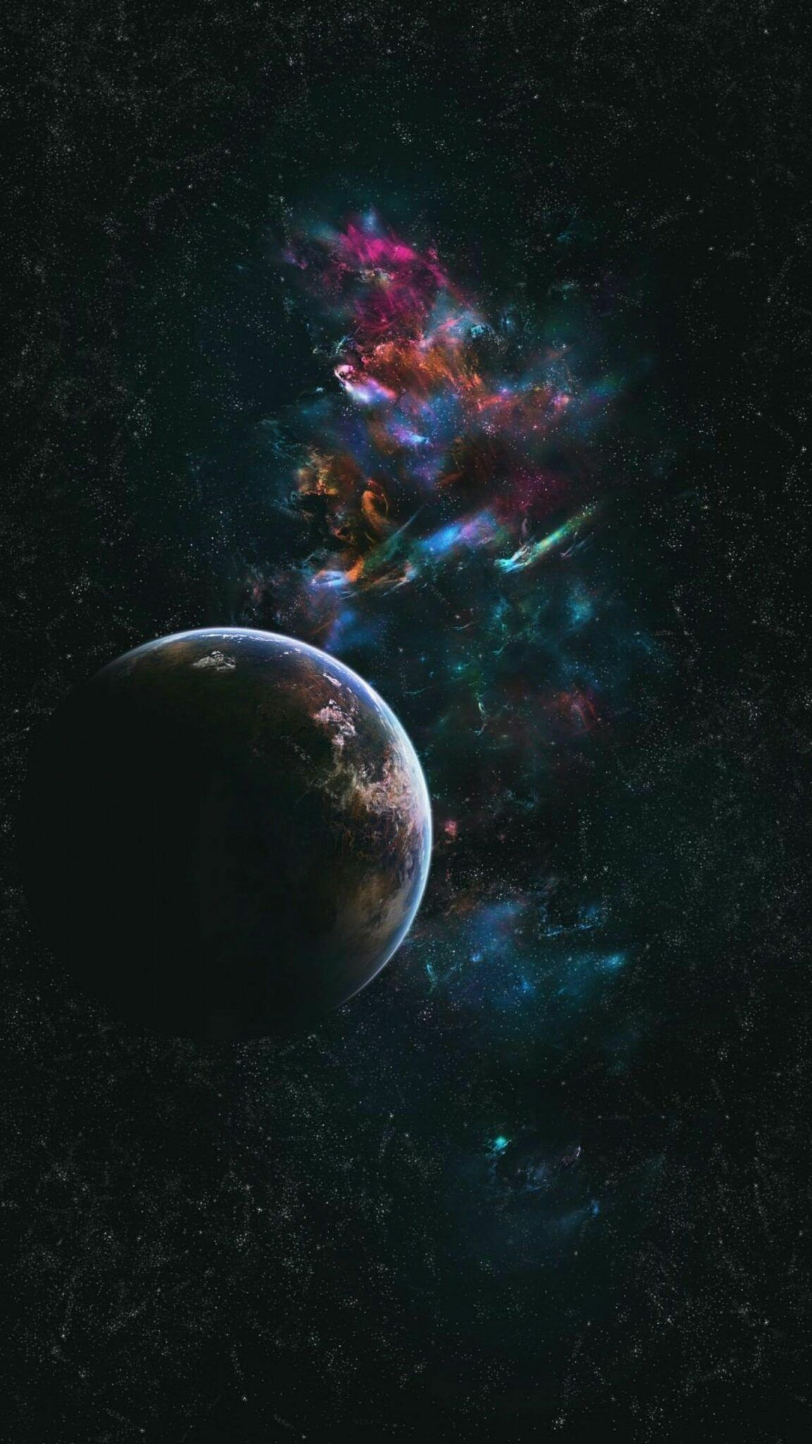 Iphone 12 Pro Max Space Wallpapers Wallpaper Cave