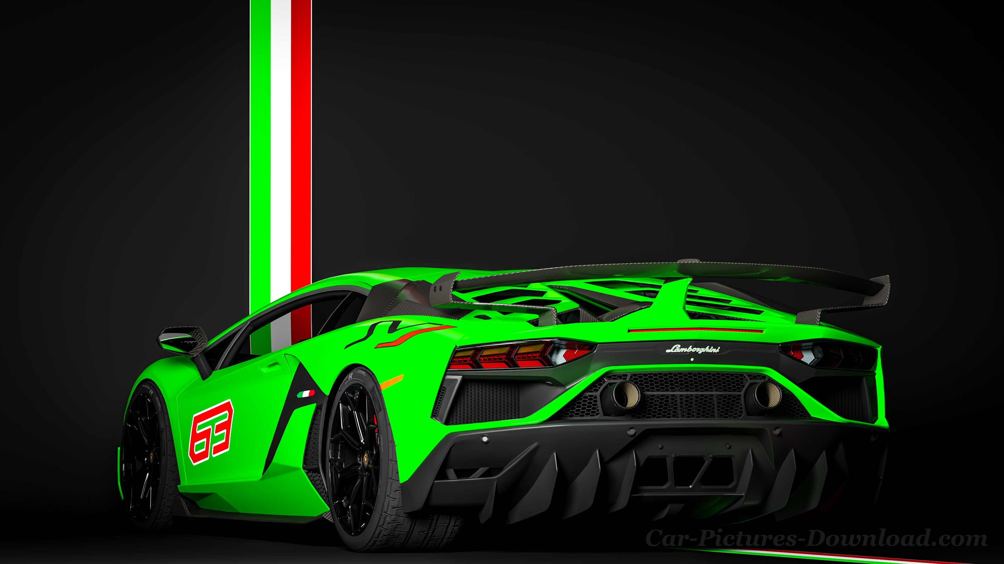 Lamborghini Green Car Hd 4k Wallpapers Wallpaper Cave