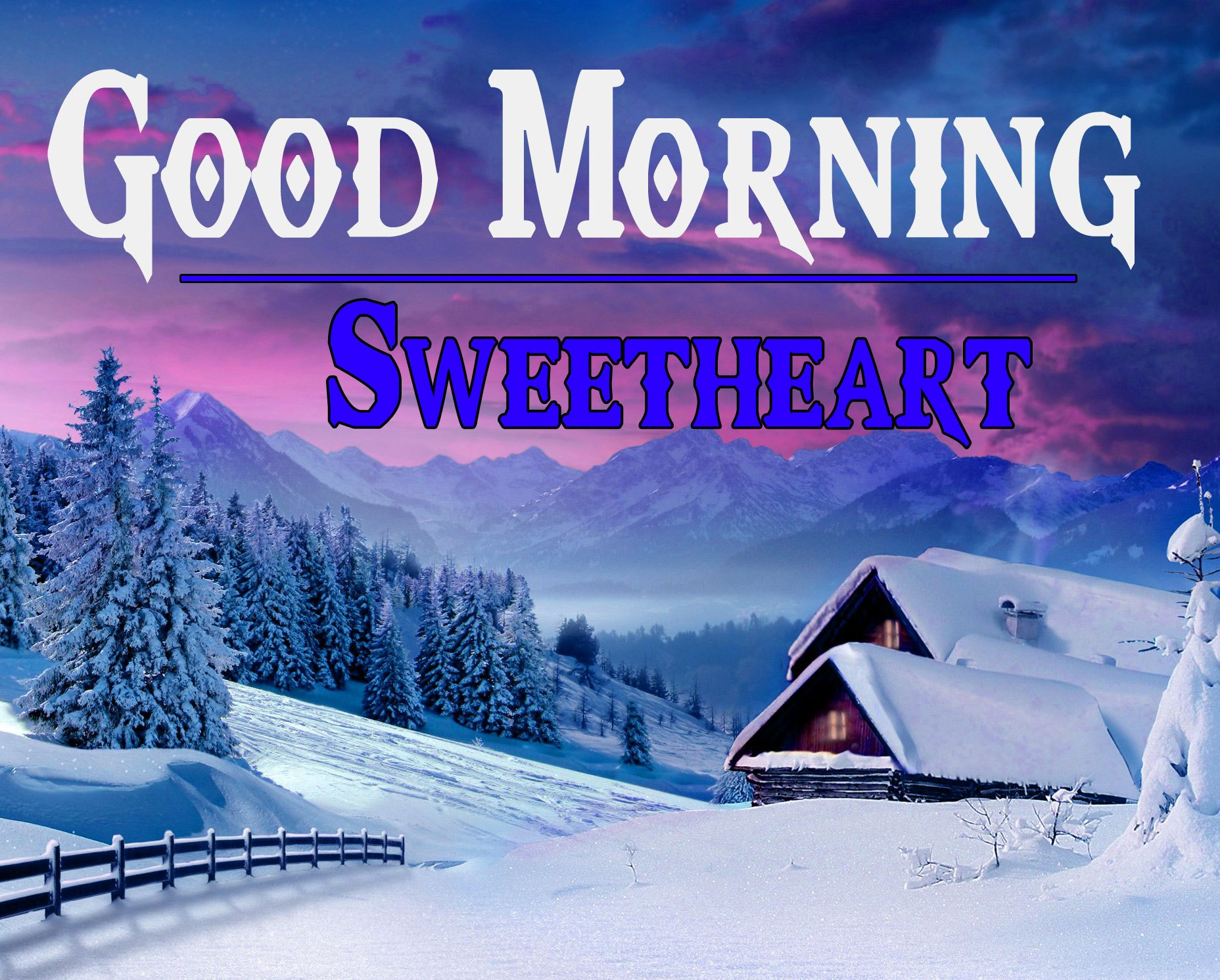 467+ Winter Good Morning Image Wallpapers Pics HD Download