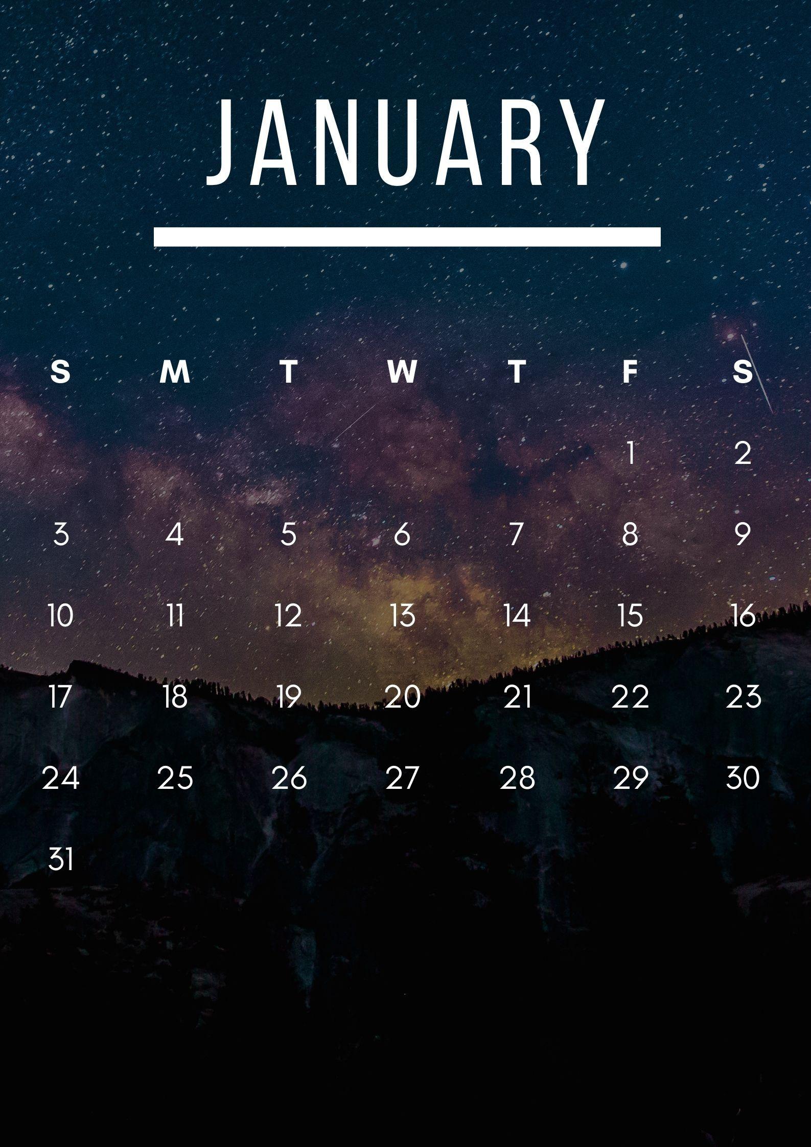 iPhone Calendar January 2021 Wallpapers - Wallpaper Cave