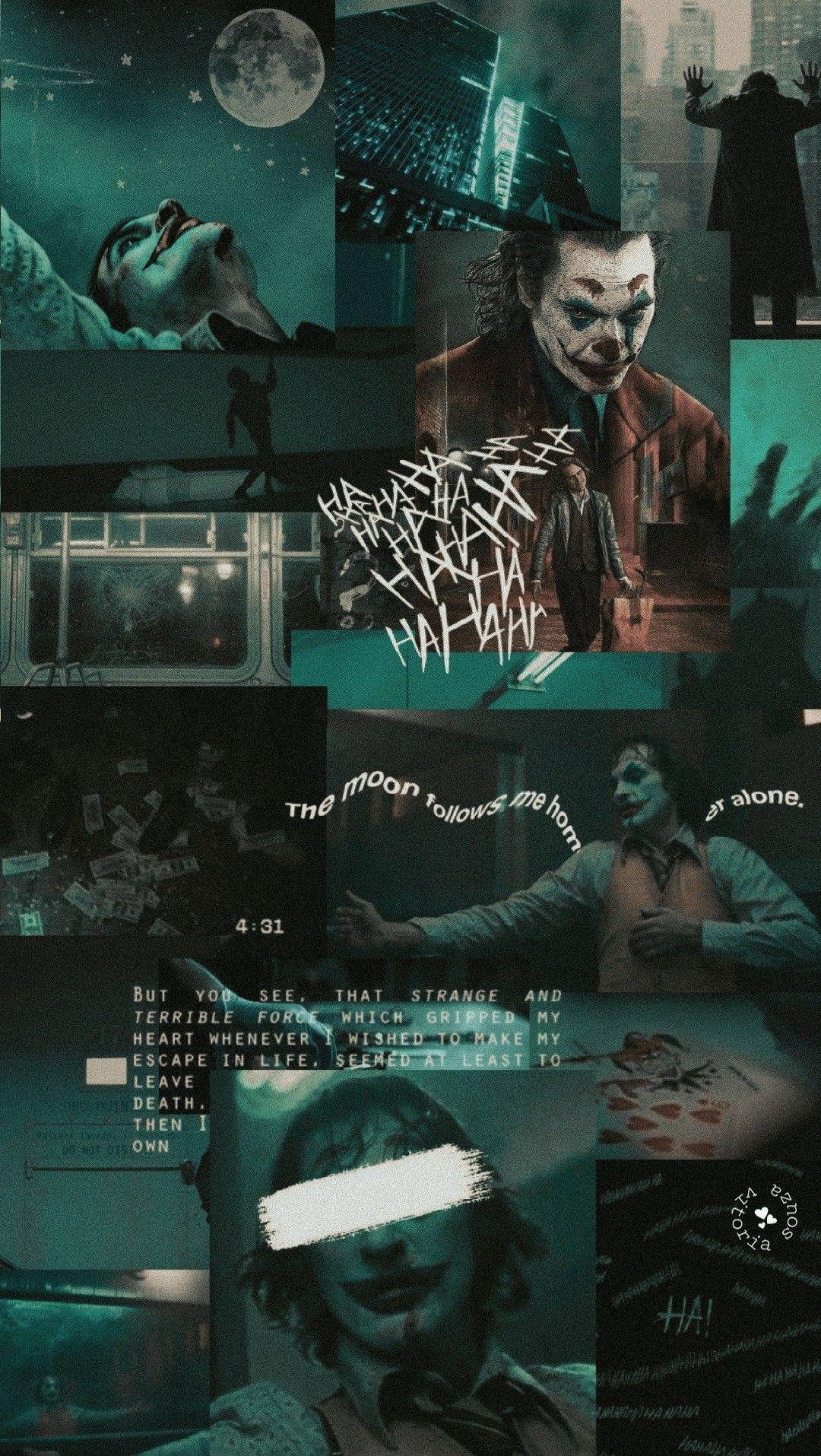 Joker Aesthetic Wallpapers Wallpaper Cave