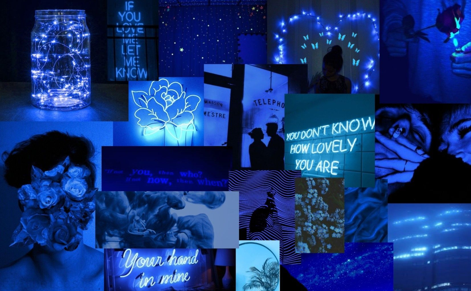 Blue Aesthetic Pc Wallpapers Wallpaper Cave