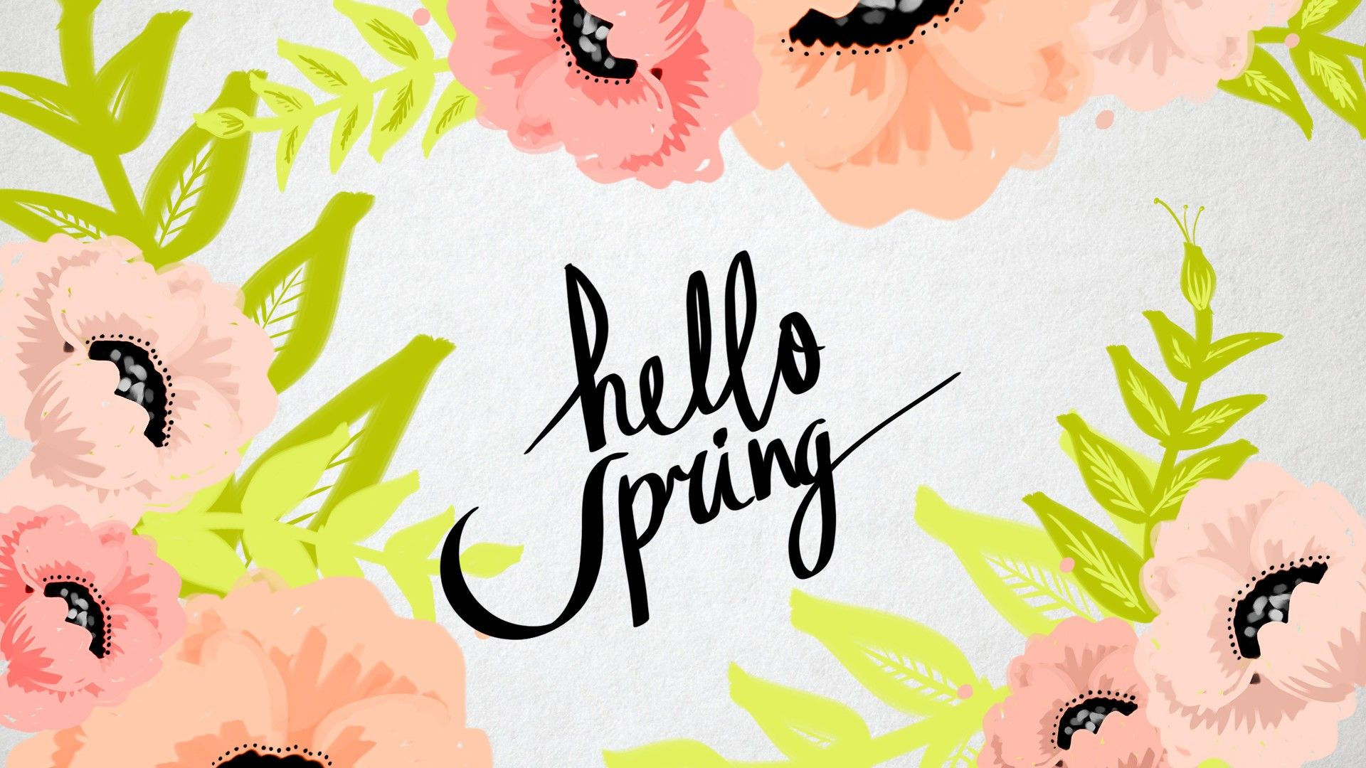 Wallpapers Hello Spring