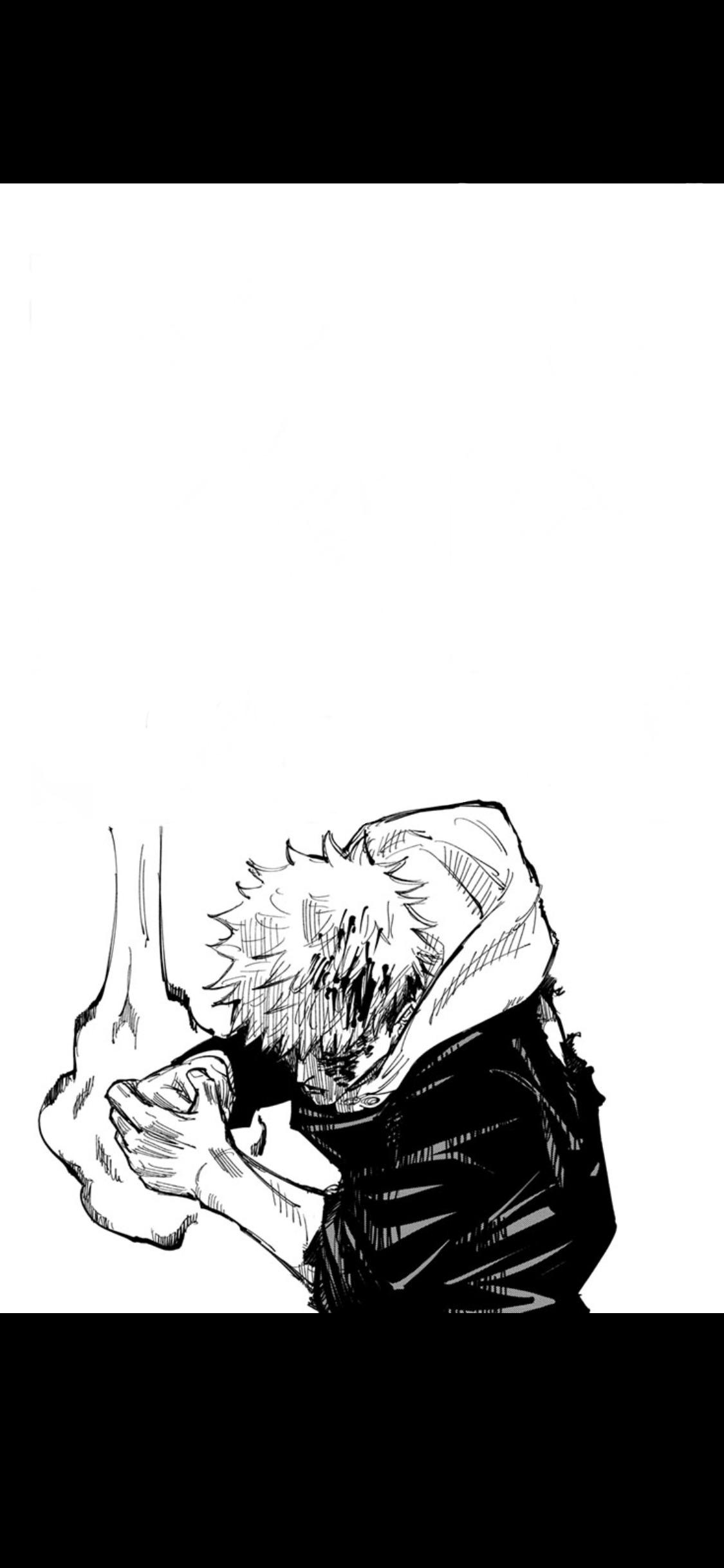 Now I made it into a wallpaper, feel free to use : JuJutsuKaisen