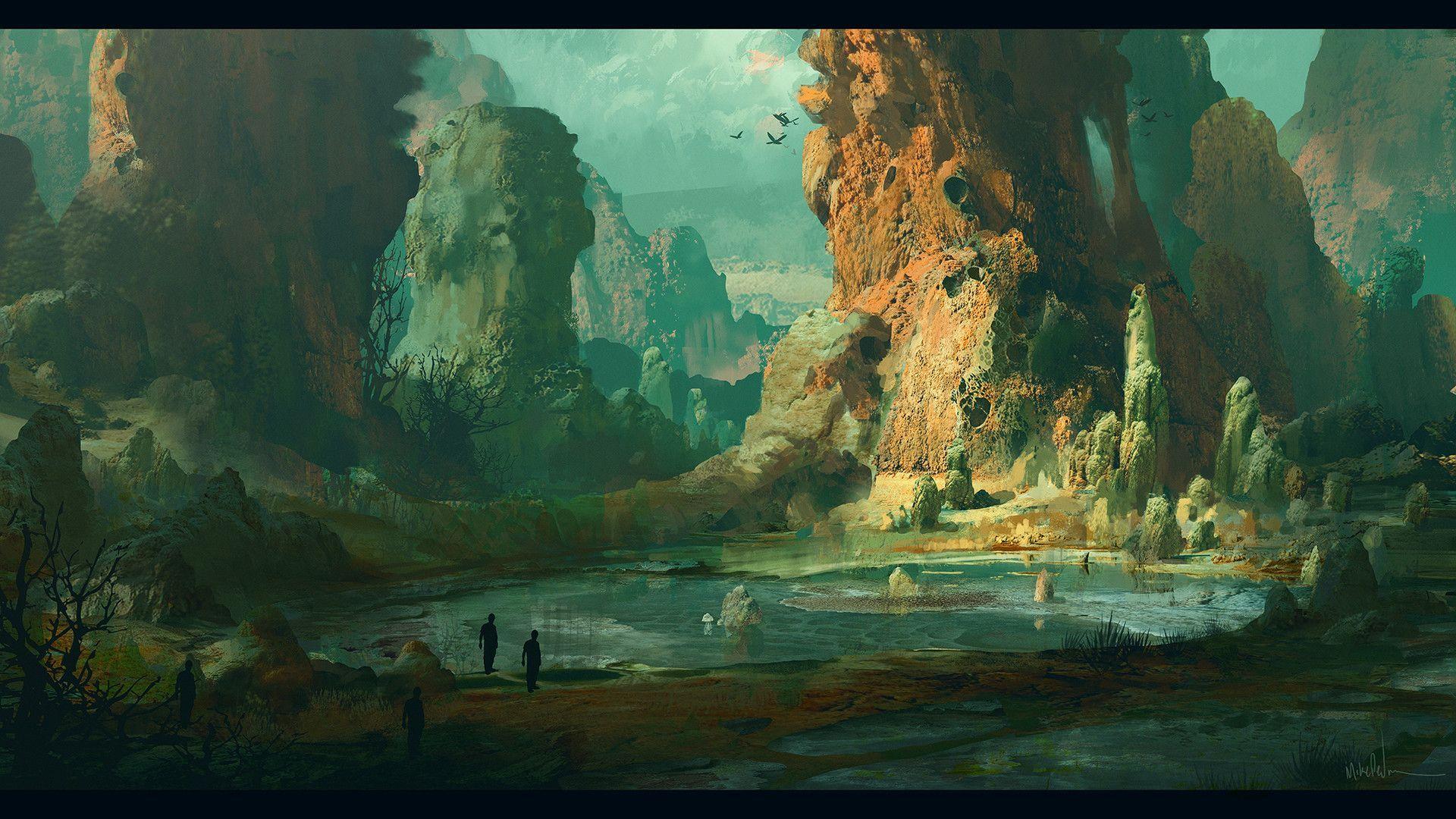 Secrets of Sulphur Springs Zoom Background 9