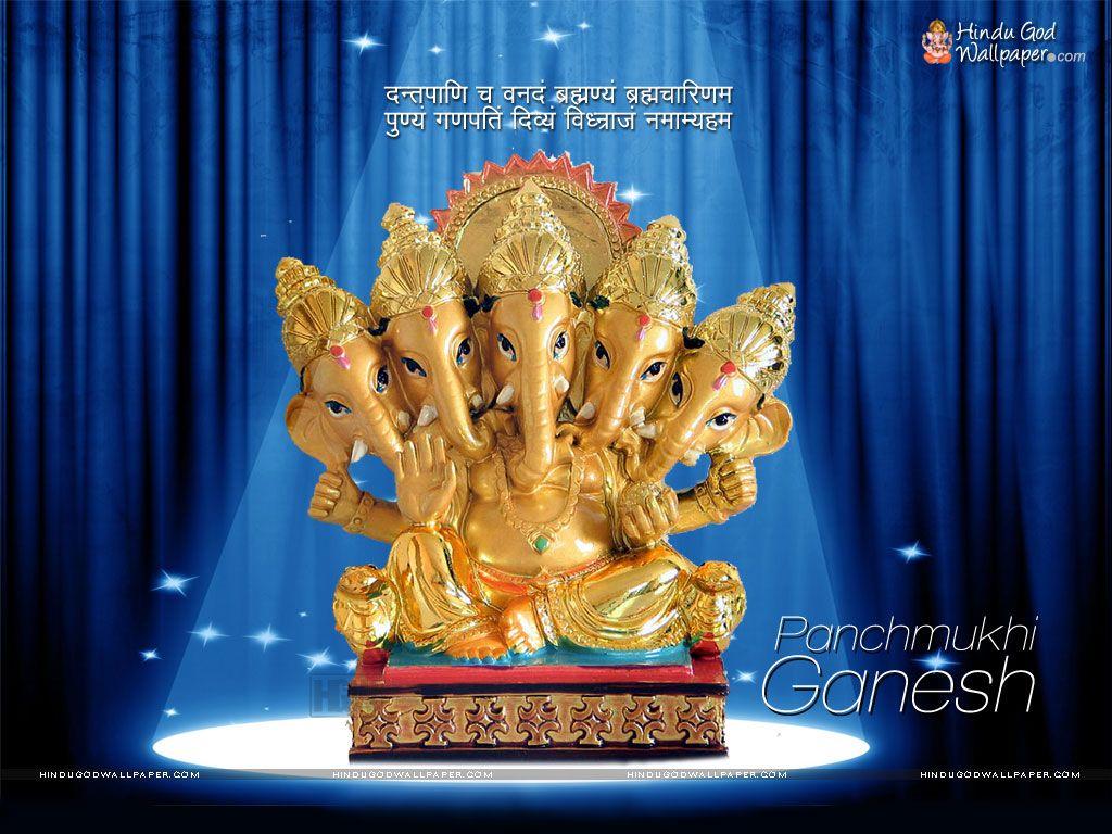 Panchmukhi Ganesha Wallpapers ...