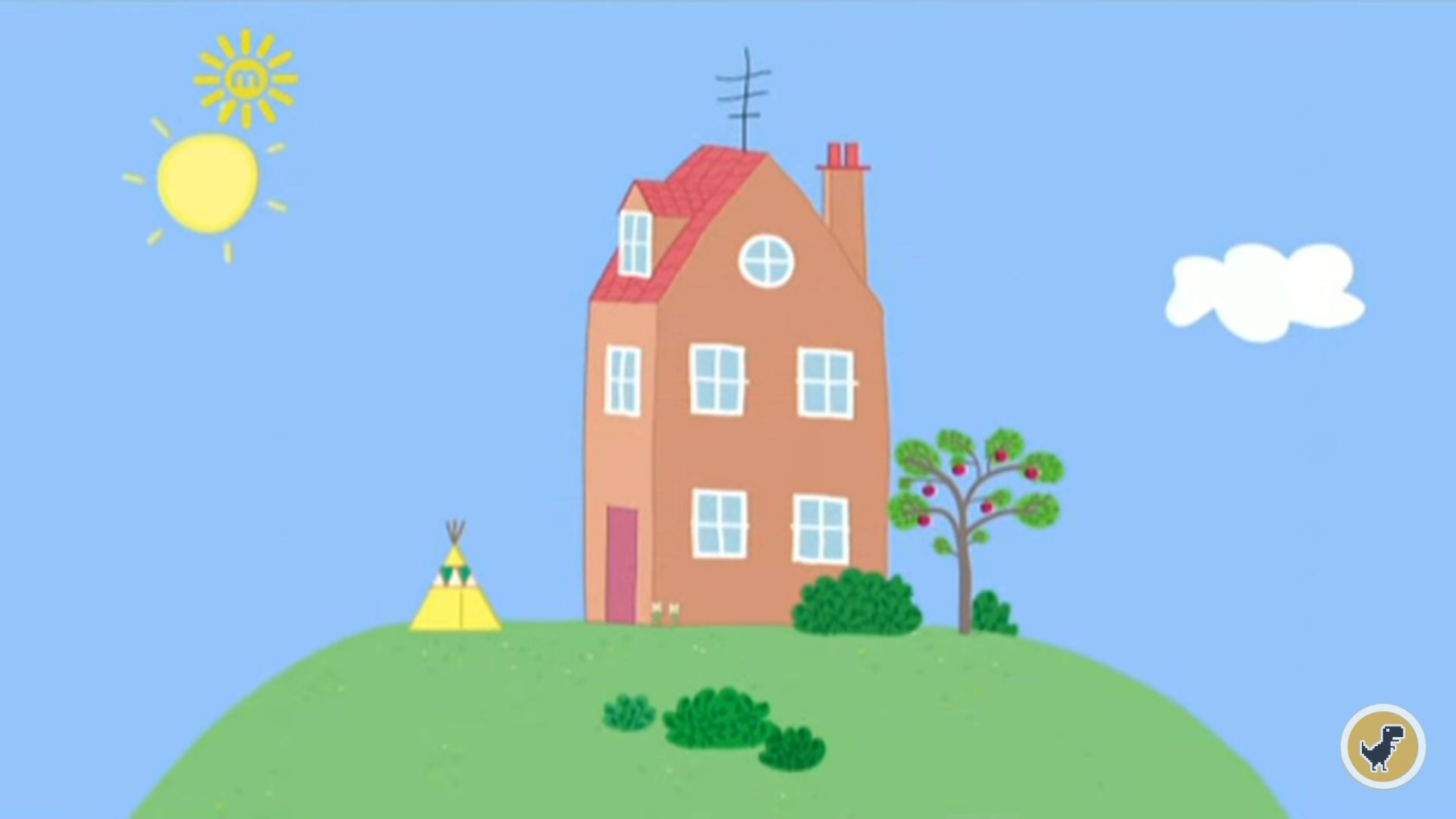 Peppa Pig House Wallpapers - Wallpaper Cave