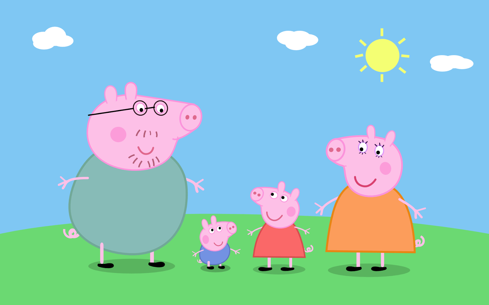 Peppa Pig House Wallpapers Wallpaper Cave