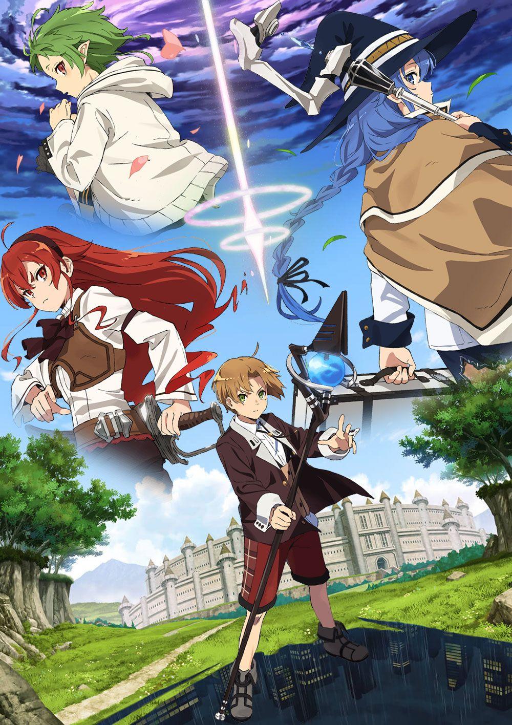 Roxy Migurdia Mushoku Tensei Wallpaper HD 4k