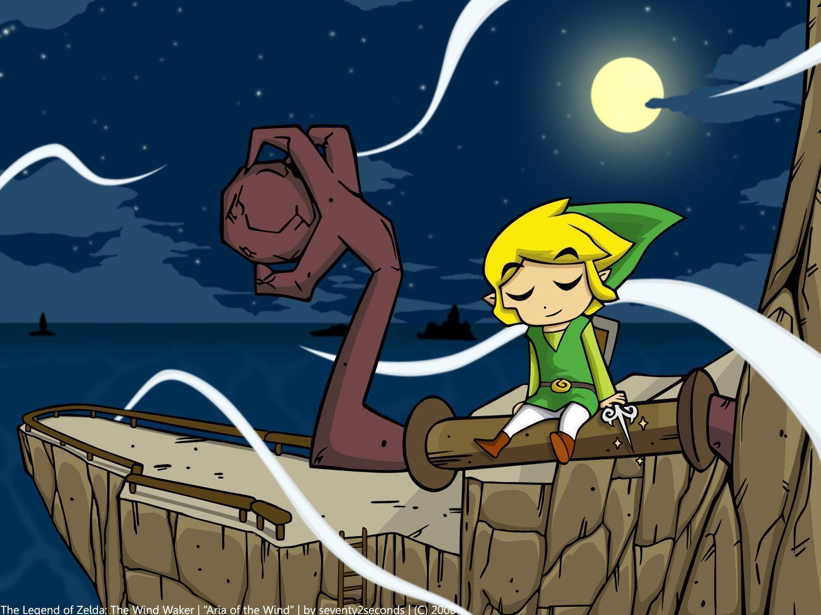 The Legend Of Zelda The Wind Waker Hd Wallpapers