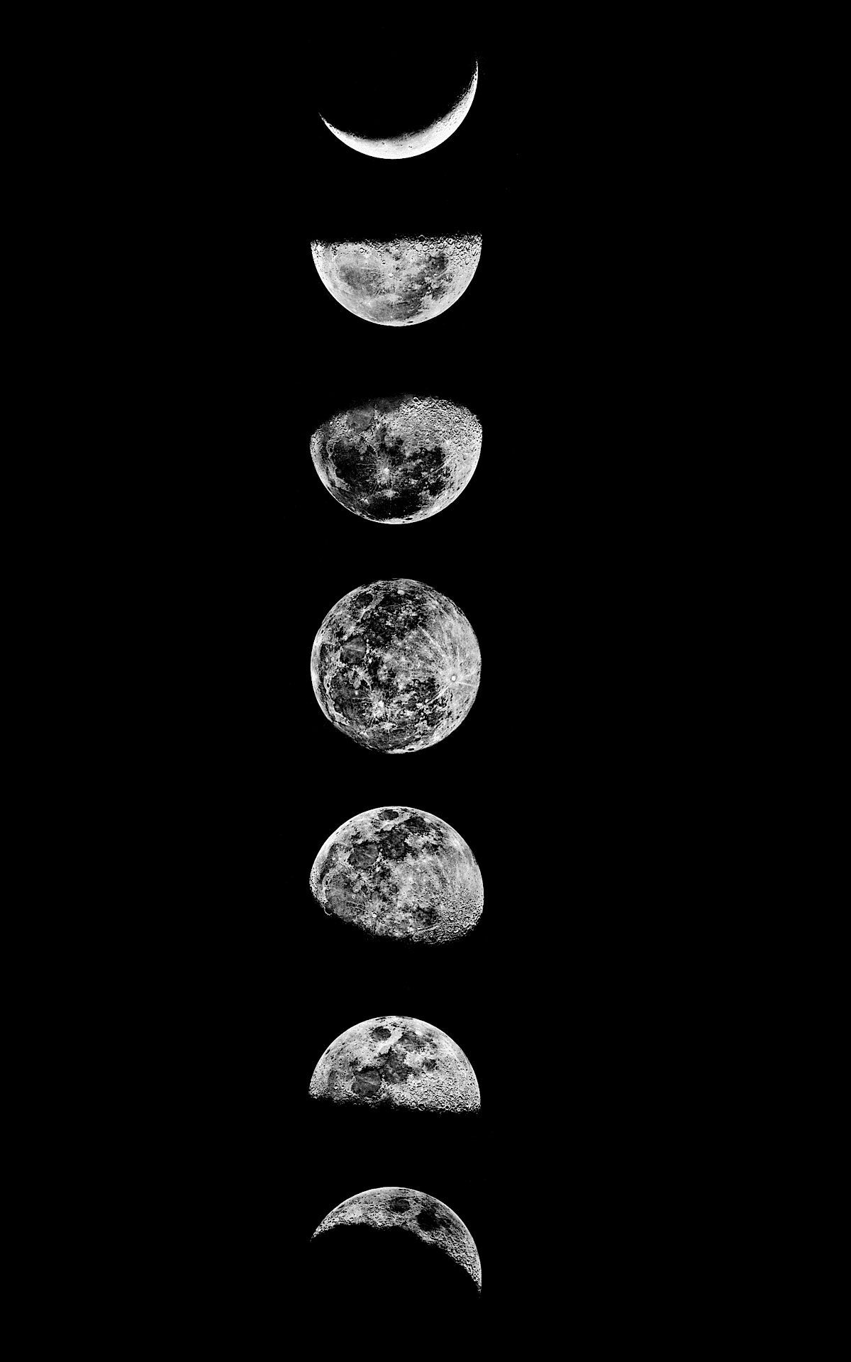 Moon Phases iPhone Wallpapers   Wallpaper Cave