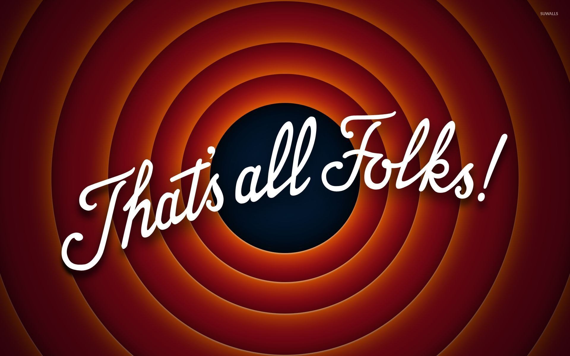 That's All Folks Wallpapers - Wallpaper Cave