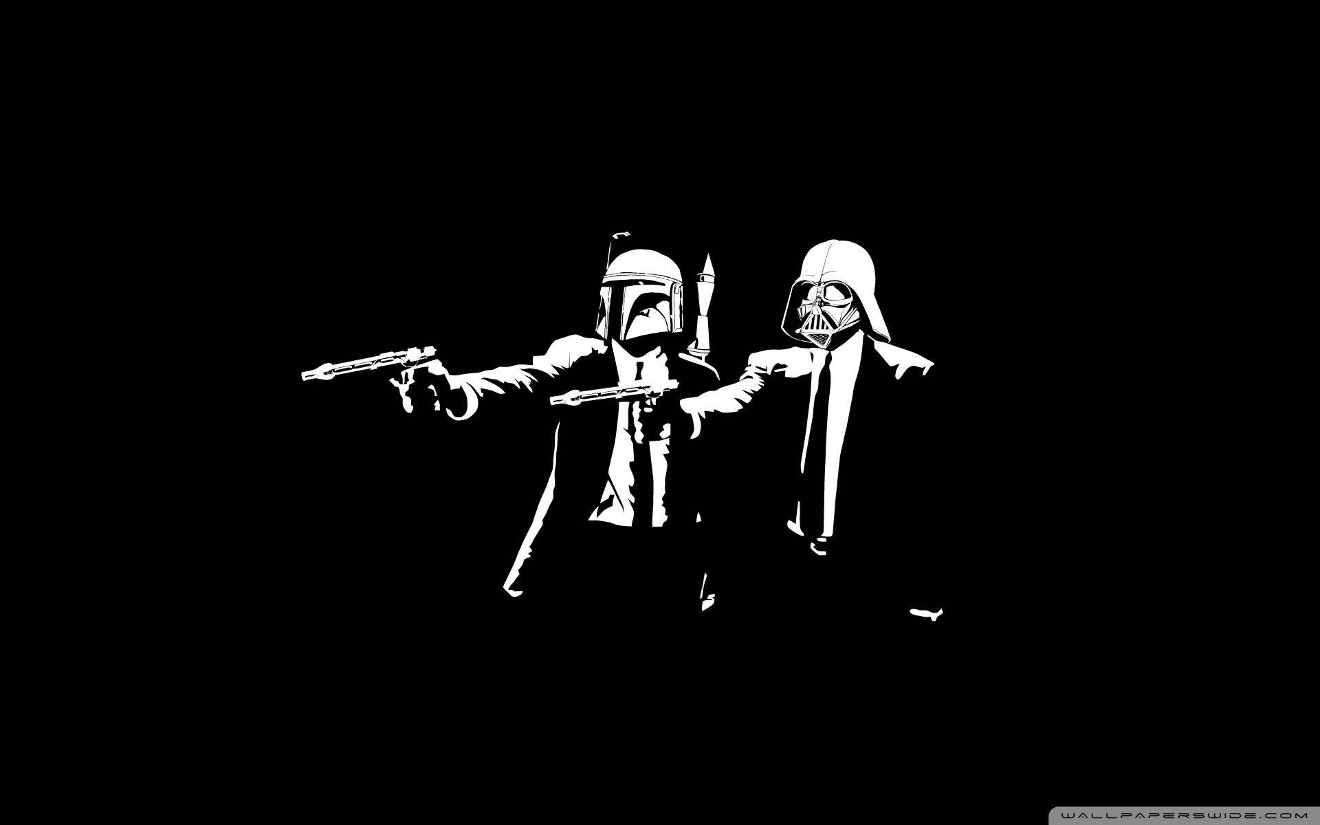 Star Wars Pulp Fiction Ultra HD Desktop Backgrounds Wallpapers for