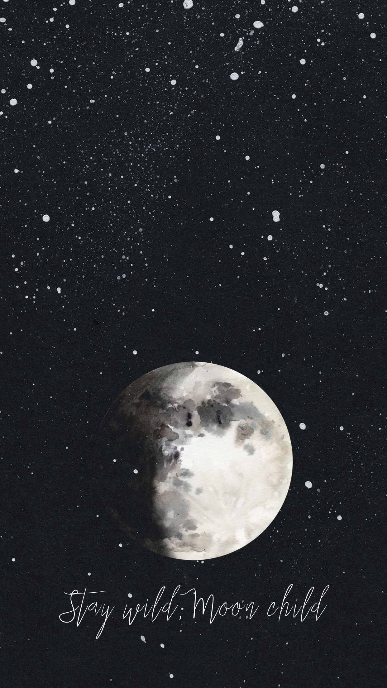 Black Moon Aesthetic Backgrounds