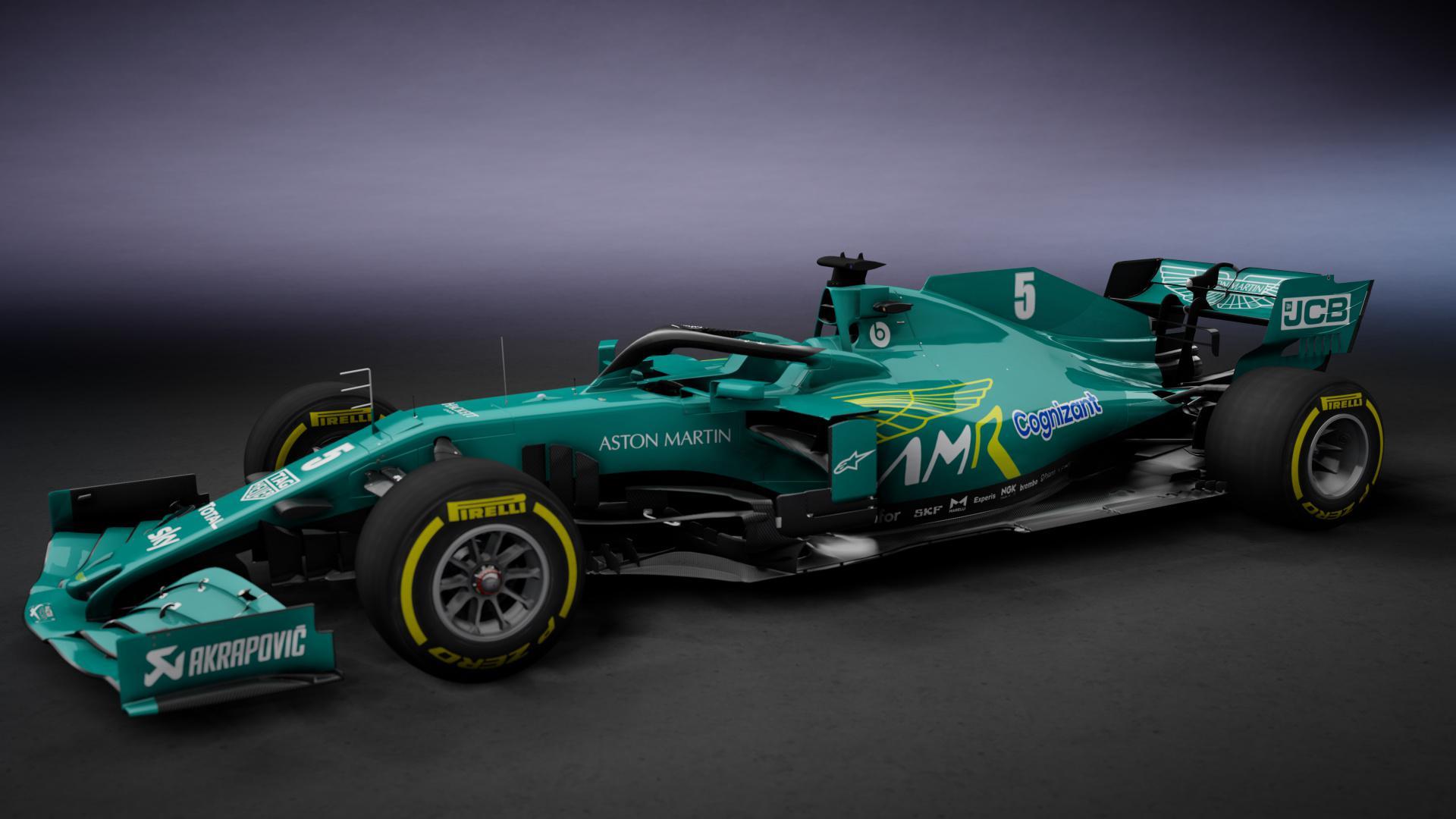 Aston Martin Cognizant F1 Team Teams Background 3