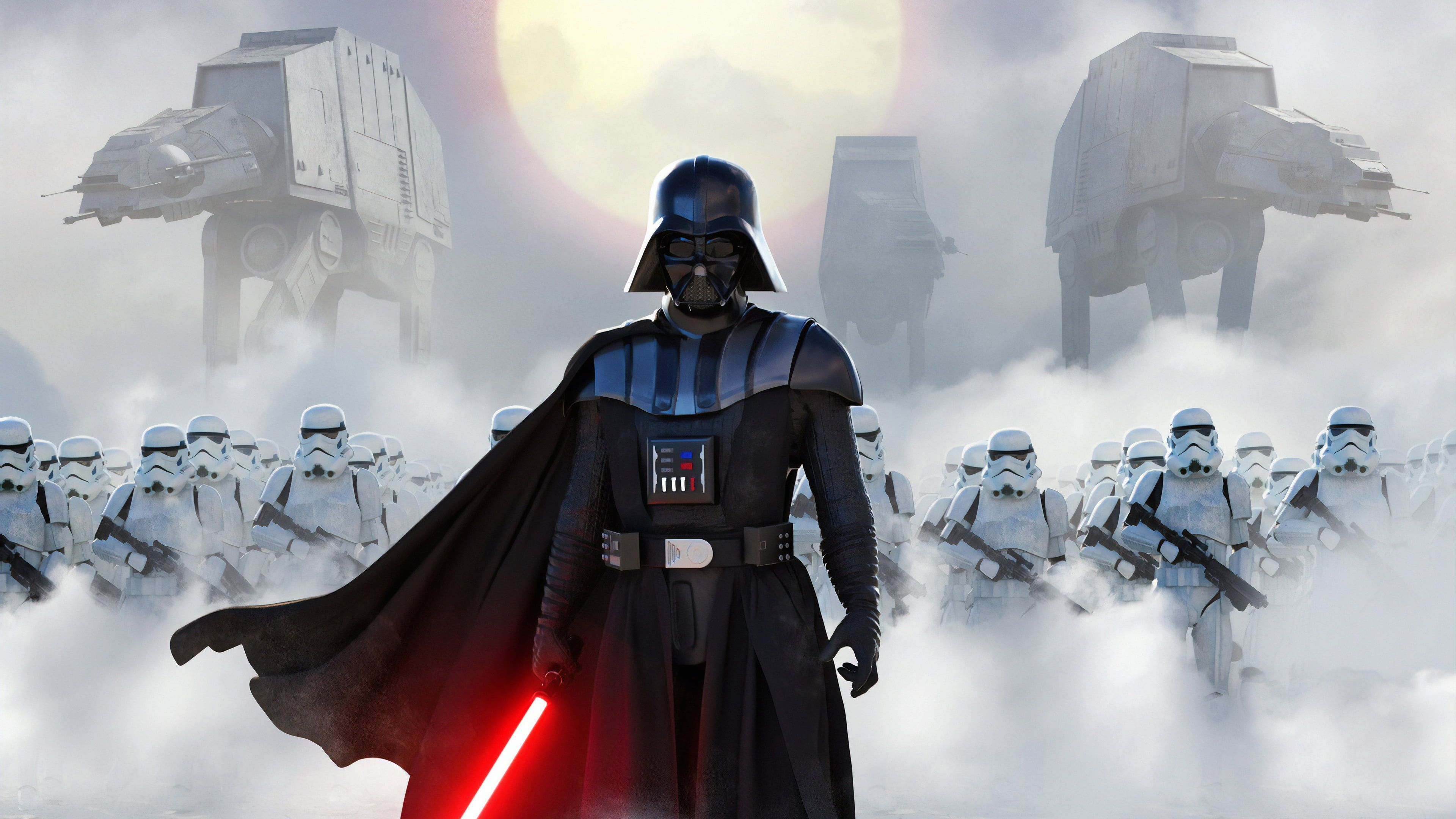 Darth Vader And Stormtroopers Wallpapers Wallpaper Cave