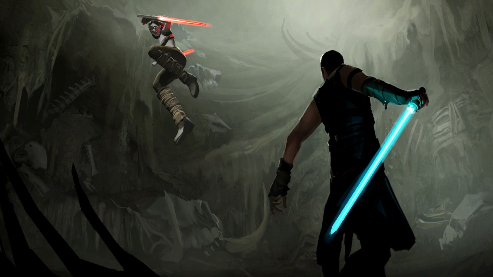 Free download Star wars sith jedi battle swords wallpapers ForWallpapercom [1920x1080] for your Desktop, Mobile & Tablet