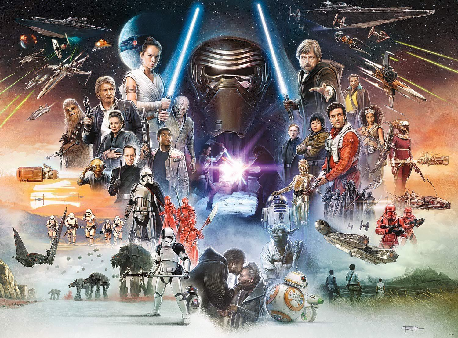 Star Wars Sequel Trilogy Characters Wallpapers Wallpaper Cave