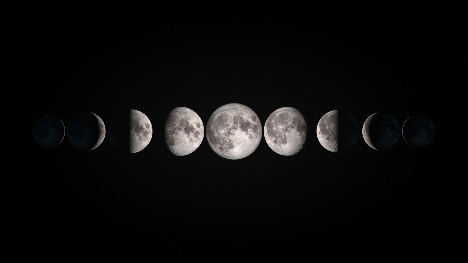 Moon Aesthetic Desktop