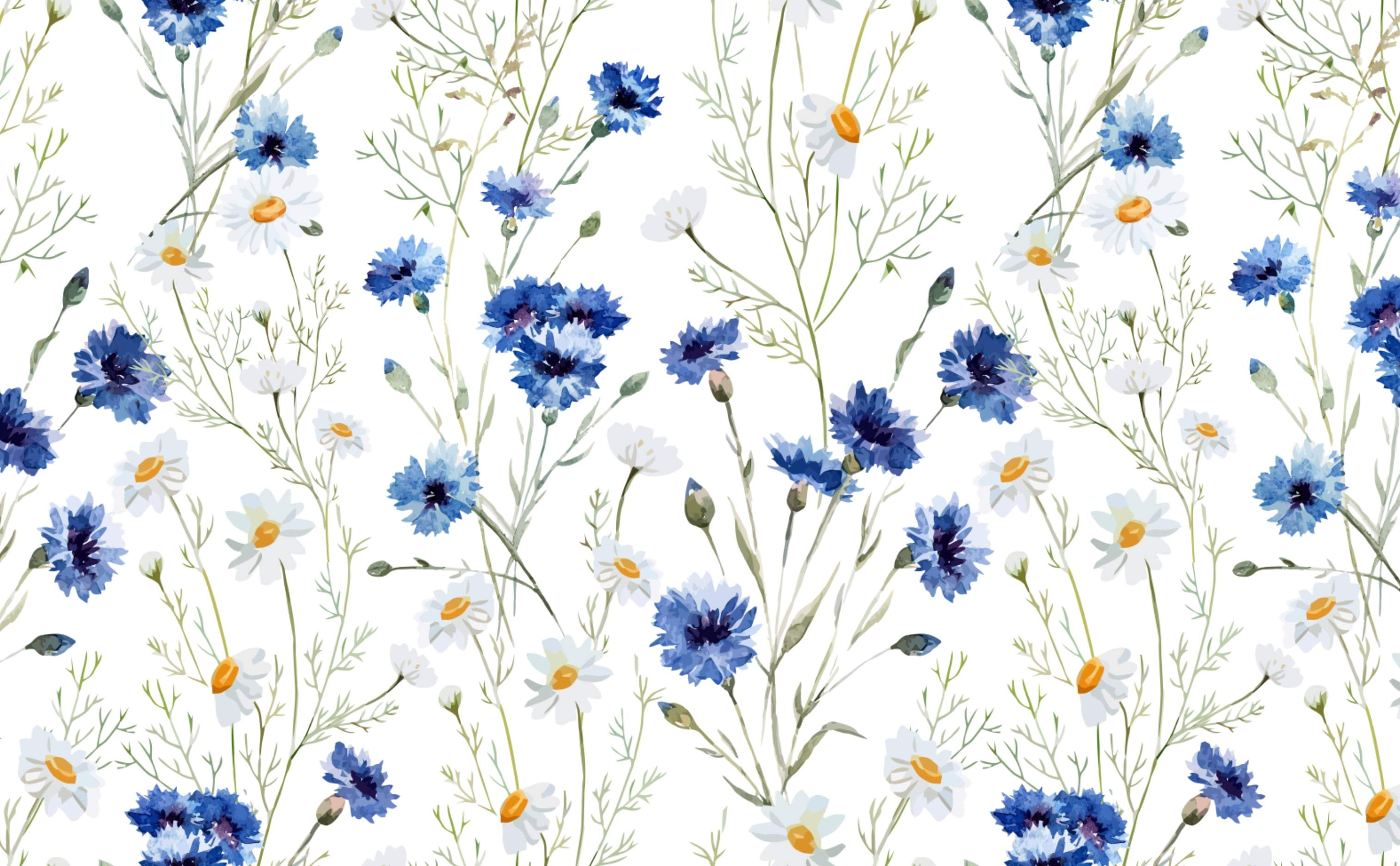 Floral Removable Wallpapers For A Fun & Cheerful Interior