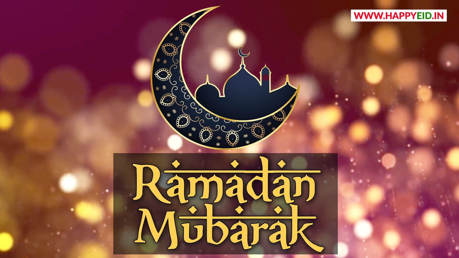 Ramadan Mubarak English Wallpapers