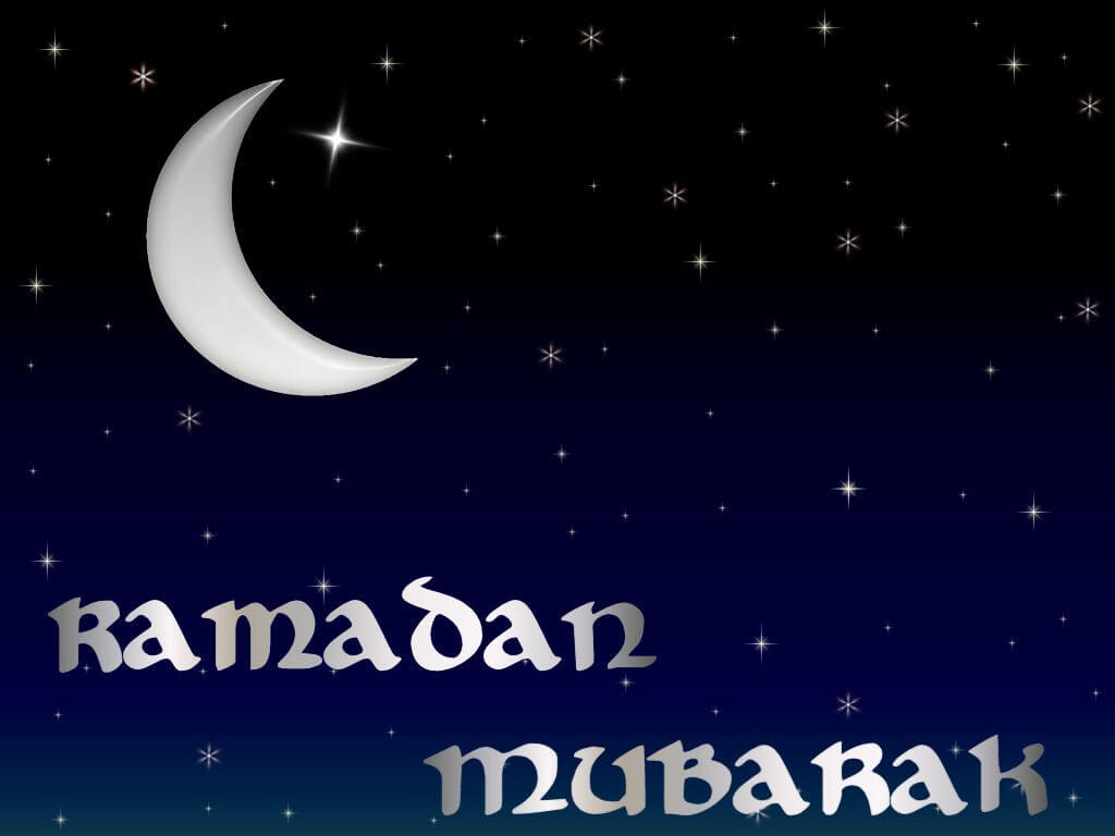 Happy Ramadan Mubarak Half Moon Wallpapers