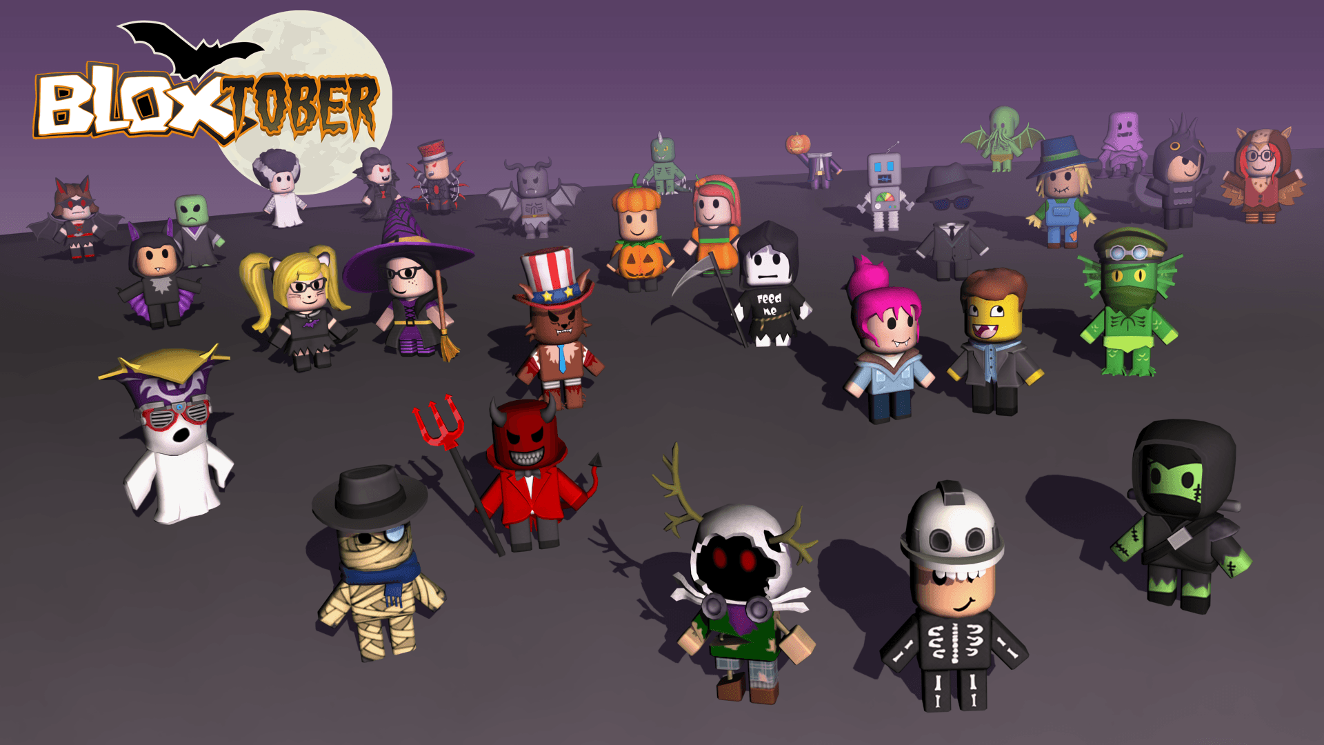 Roblox Halloween Wallpapers