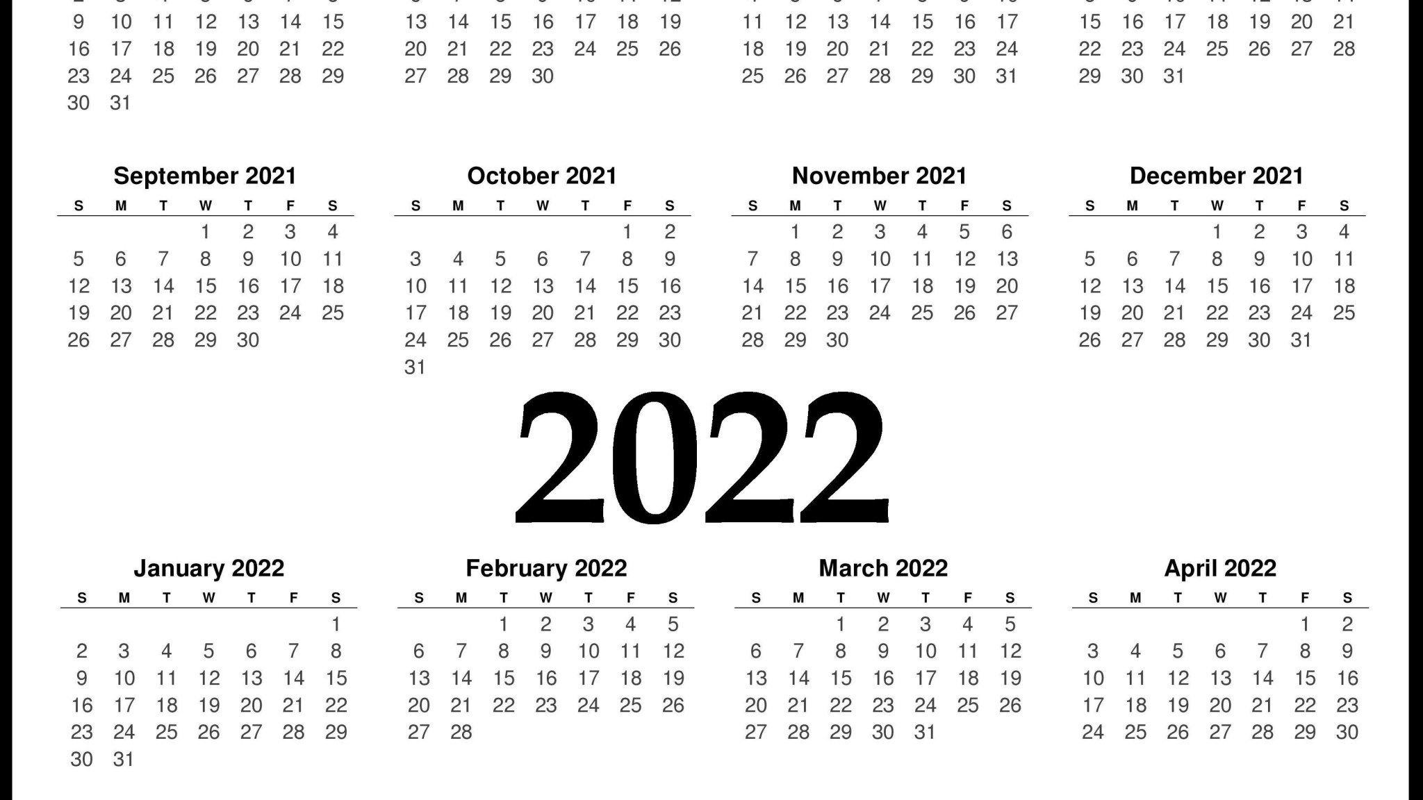 February 2022 Calendar Wallpaper.2022 Calendar Wallpapers Wallpaper Cave