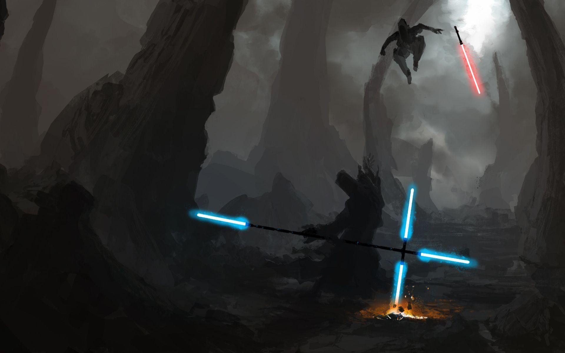 Lightsaber Battle Wallpapers