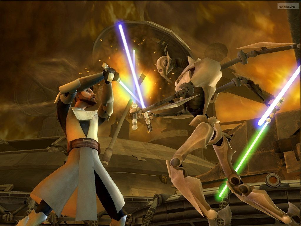 Star Wars The Clone Wars: Lightsaber Duels desktop wallpapers