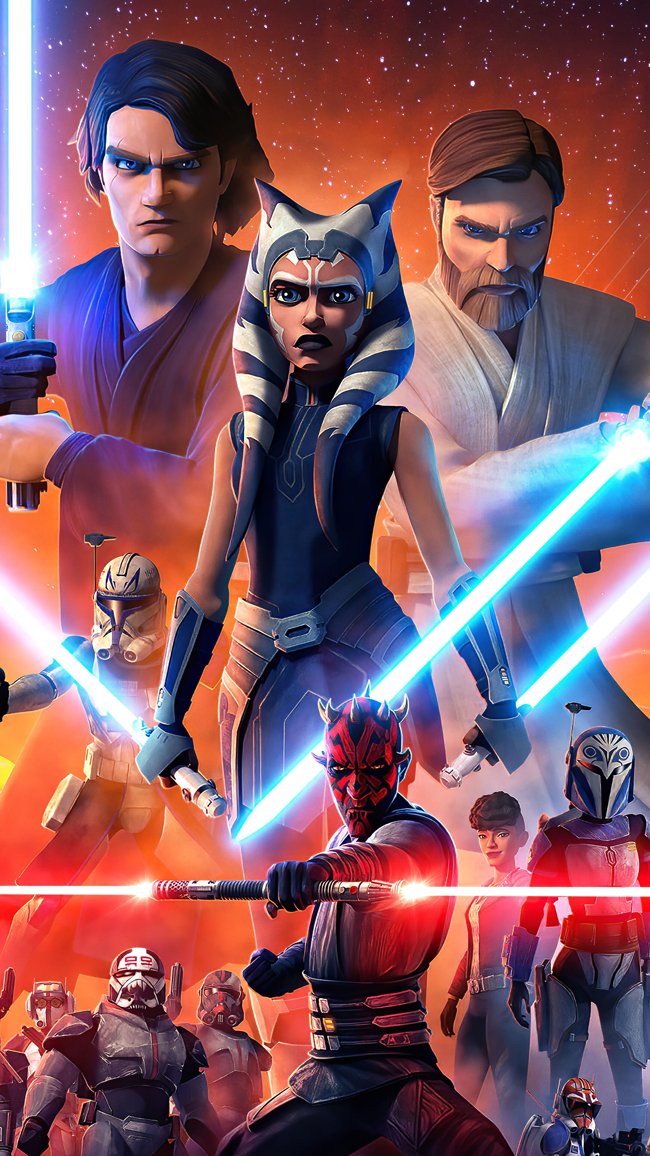 The Clone Wars Hd Wallpapers Wallpaper Cave