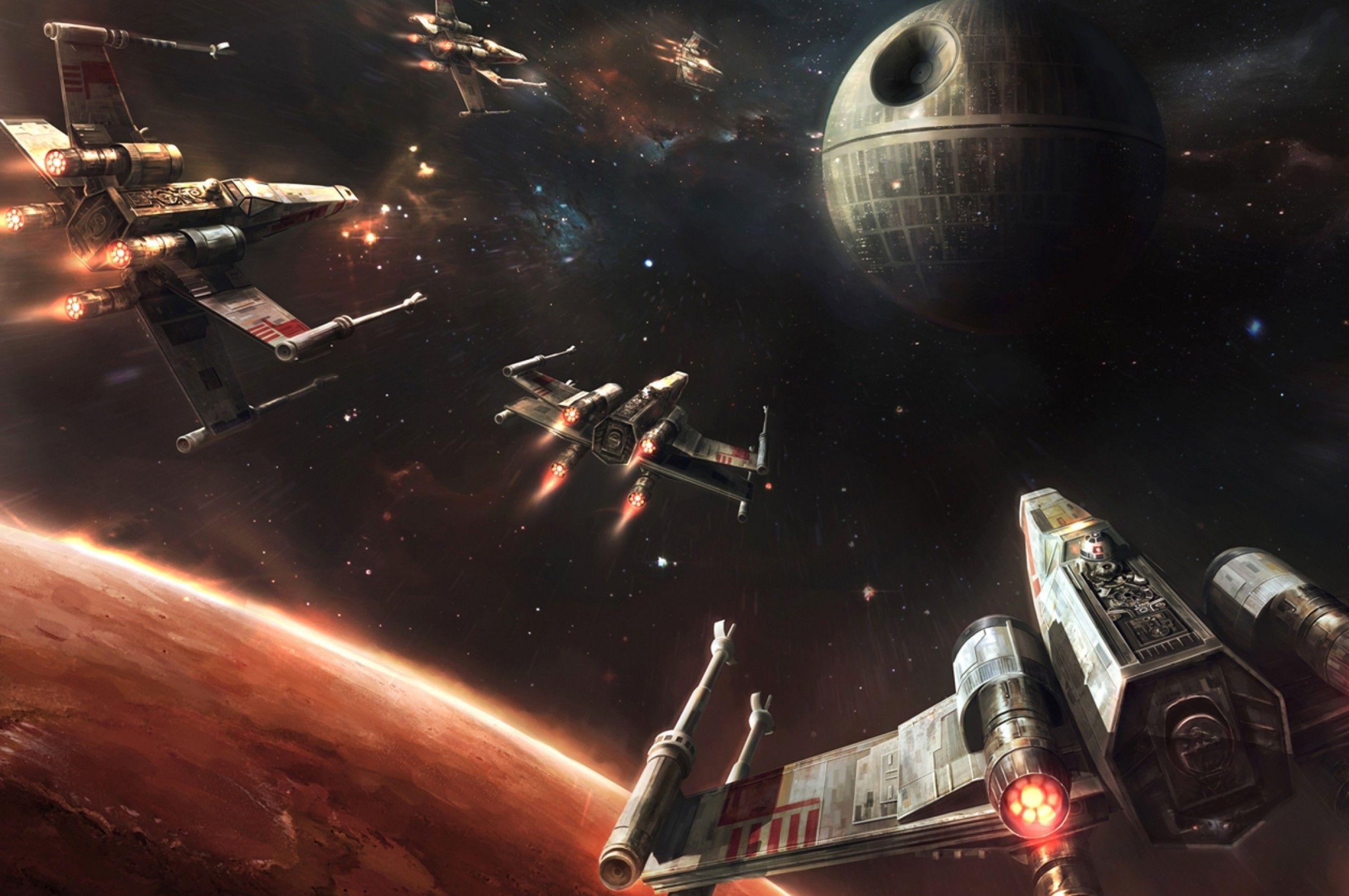 Death Star Desktop Wallpapers Wallpaper Cave