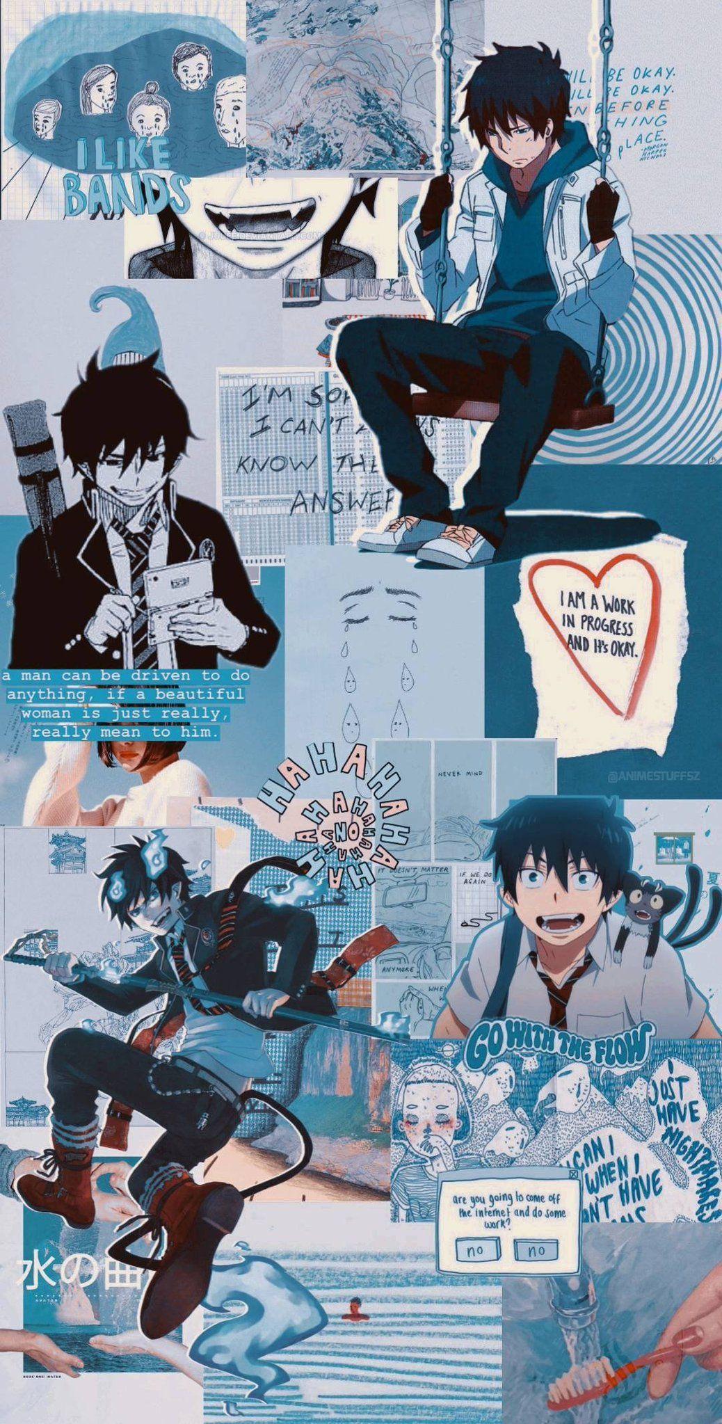 Rin Okumura Game Aesthetic Wallpapers ...