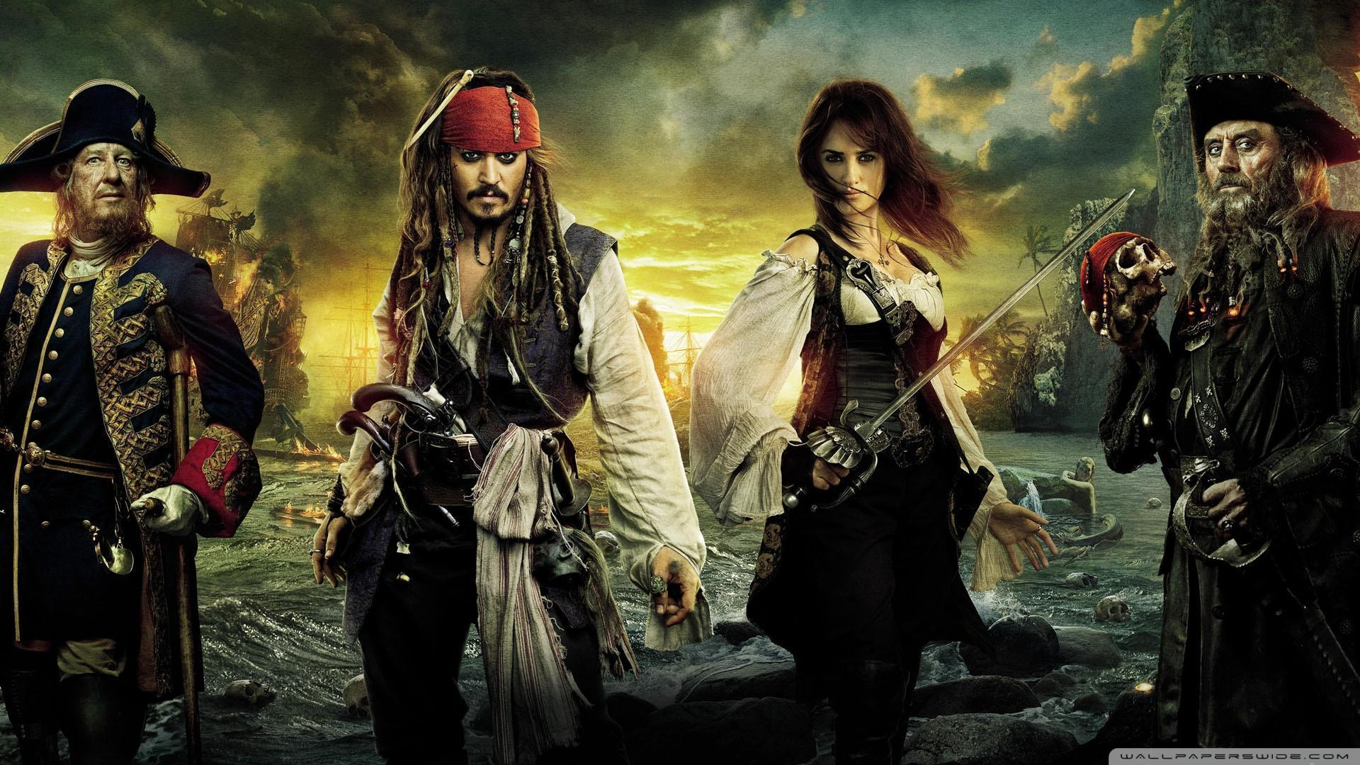 Pirates Of The Caribbean On Stranger Tides 2011 Movie HD desktop