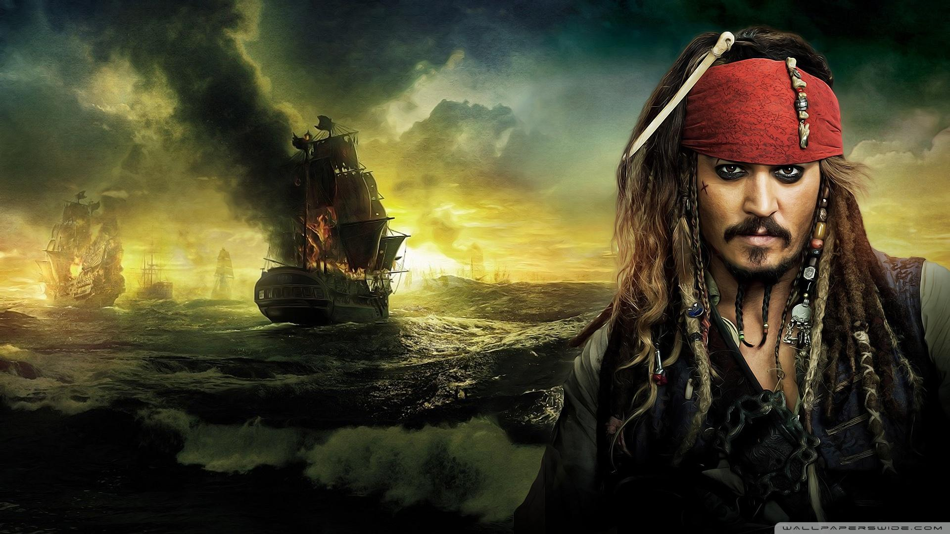 Johnny Depp, Pirates of the Caribbean On Stranger Tides 2011 HD