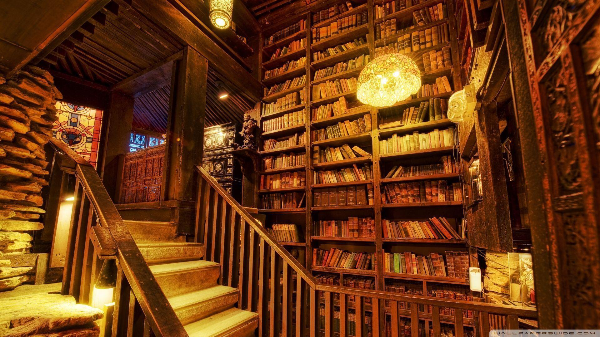 Library Wallpapers - Wallpaper Cave