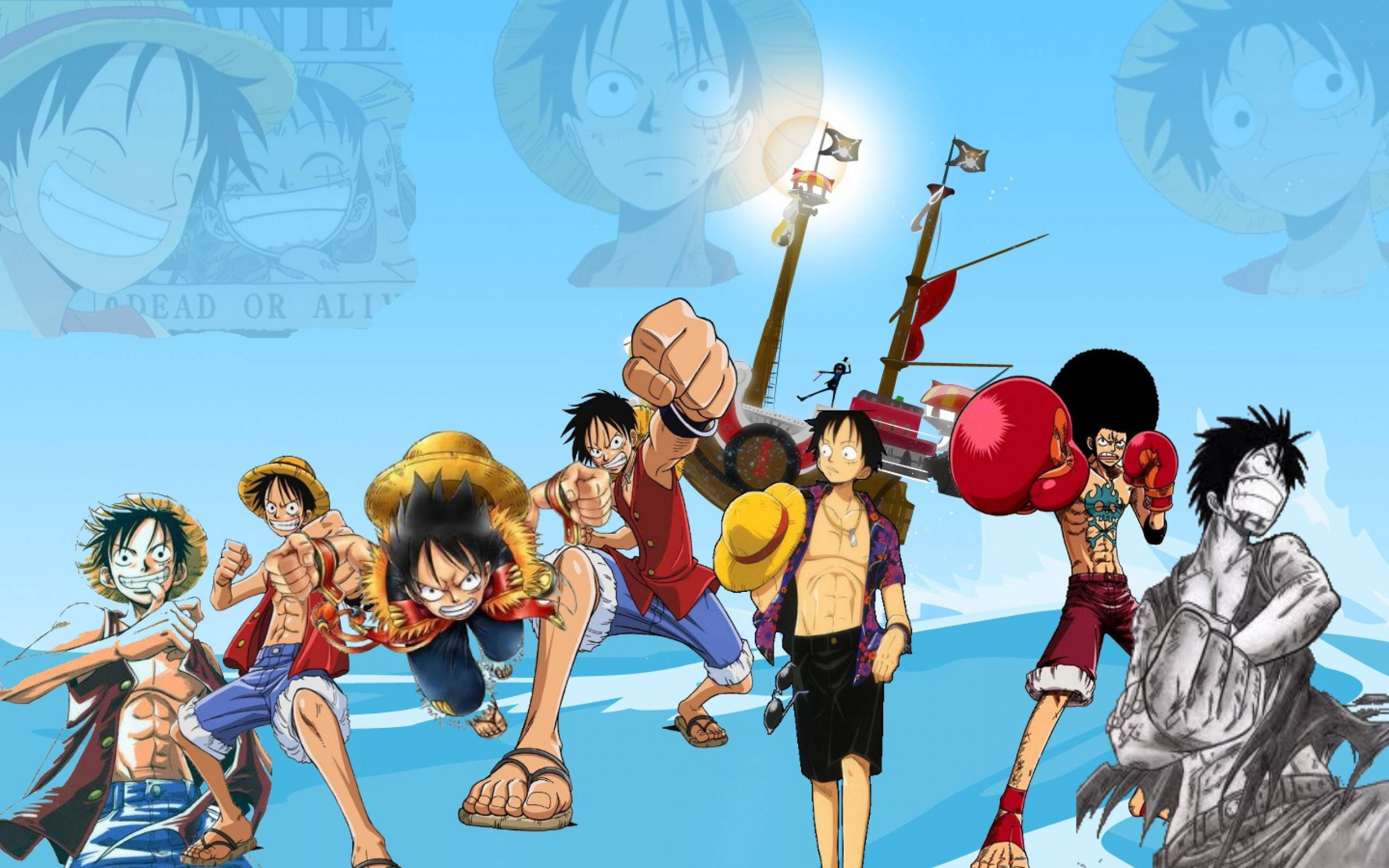 One Piece Wallpaper Luffy Gear Third One Piece Luffy Wallpa...