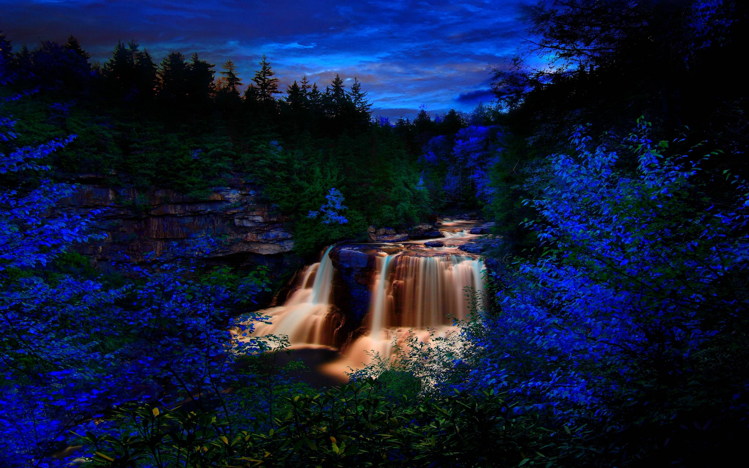 Free Waterfalls Wallpaper - DREAM FOREST FALLS Wallpapers - HD ...