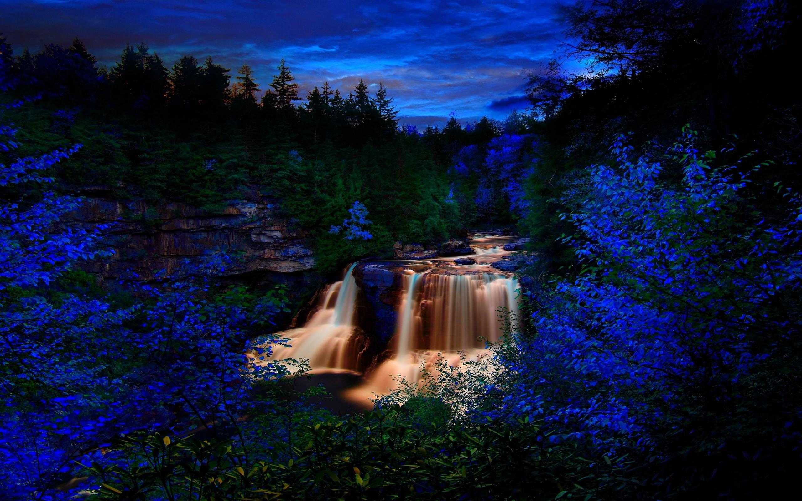 Dream wallpapers wallpaper cave - Waterfalls desktop wallpaper forest falls ...