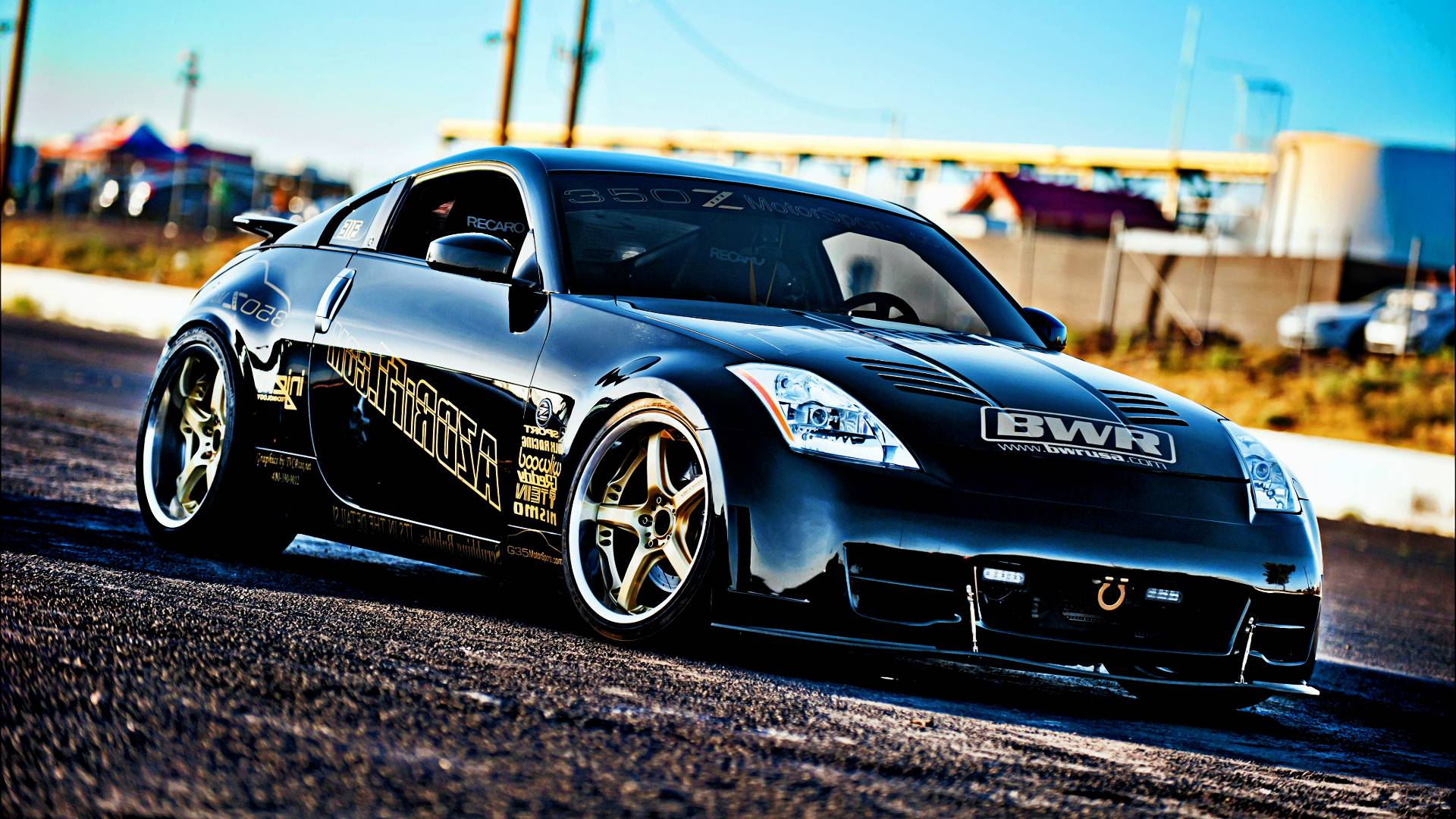 Nissan 350z wallpapers wallpaper cave - Nissan 350z modified ...