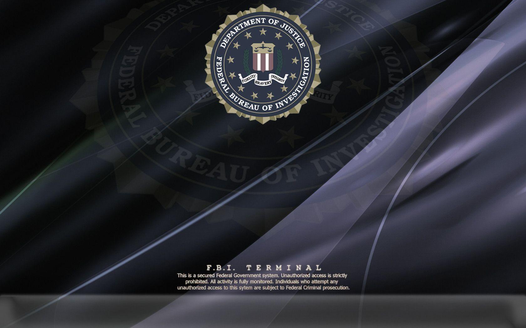 fbi logo wallpapers wallpaper cave