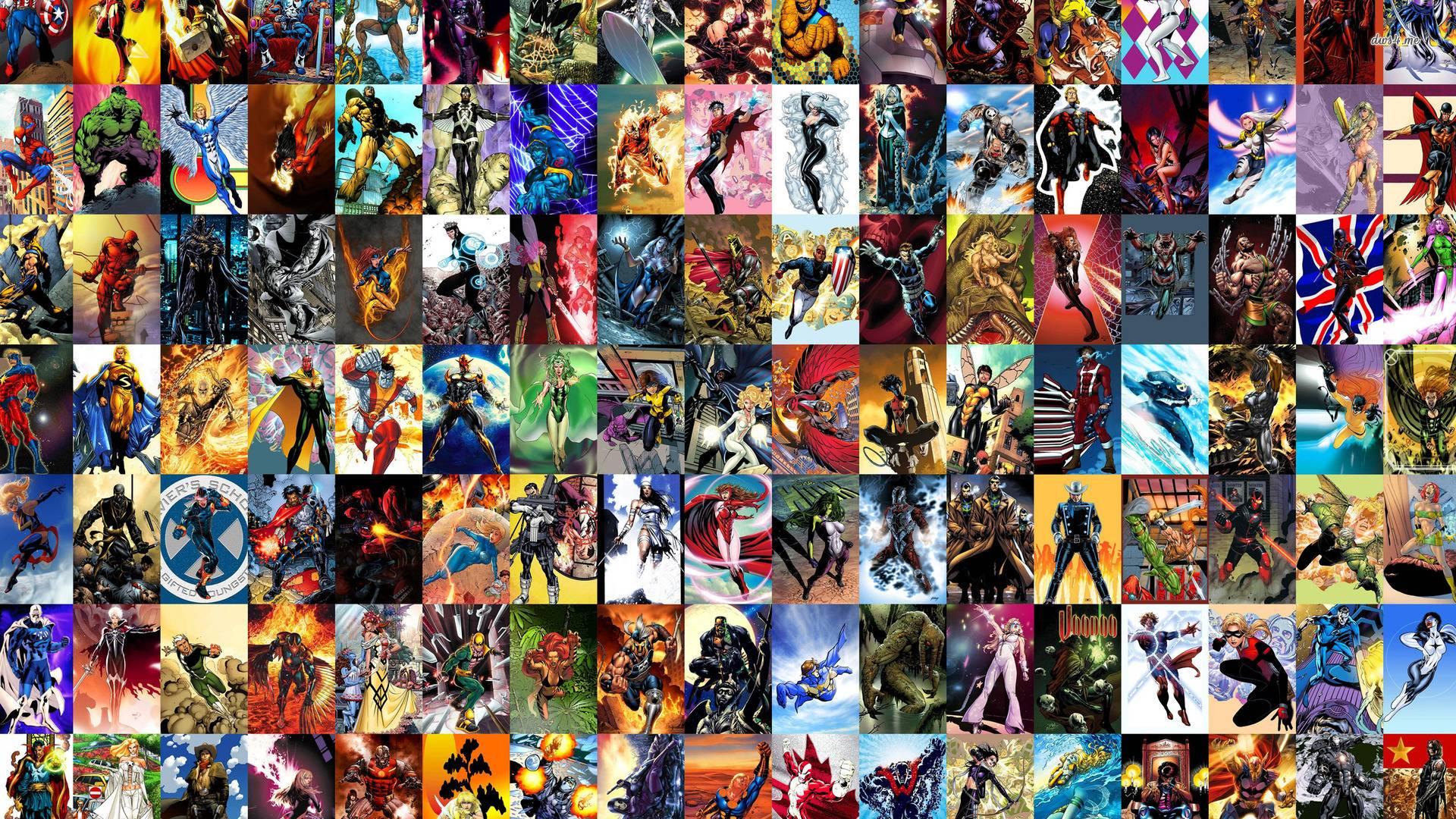 marvel comics wallpapers wallpaper cave